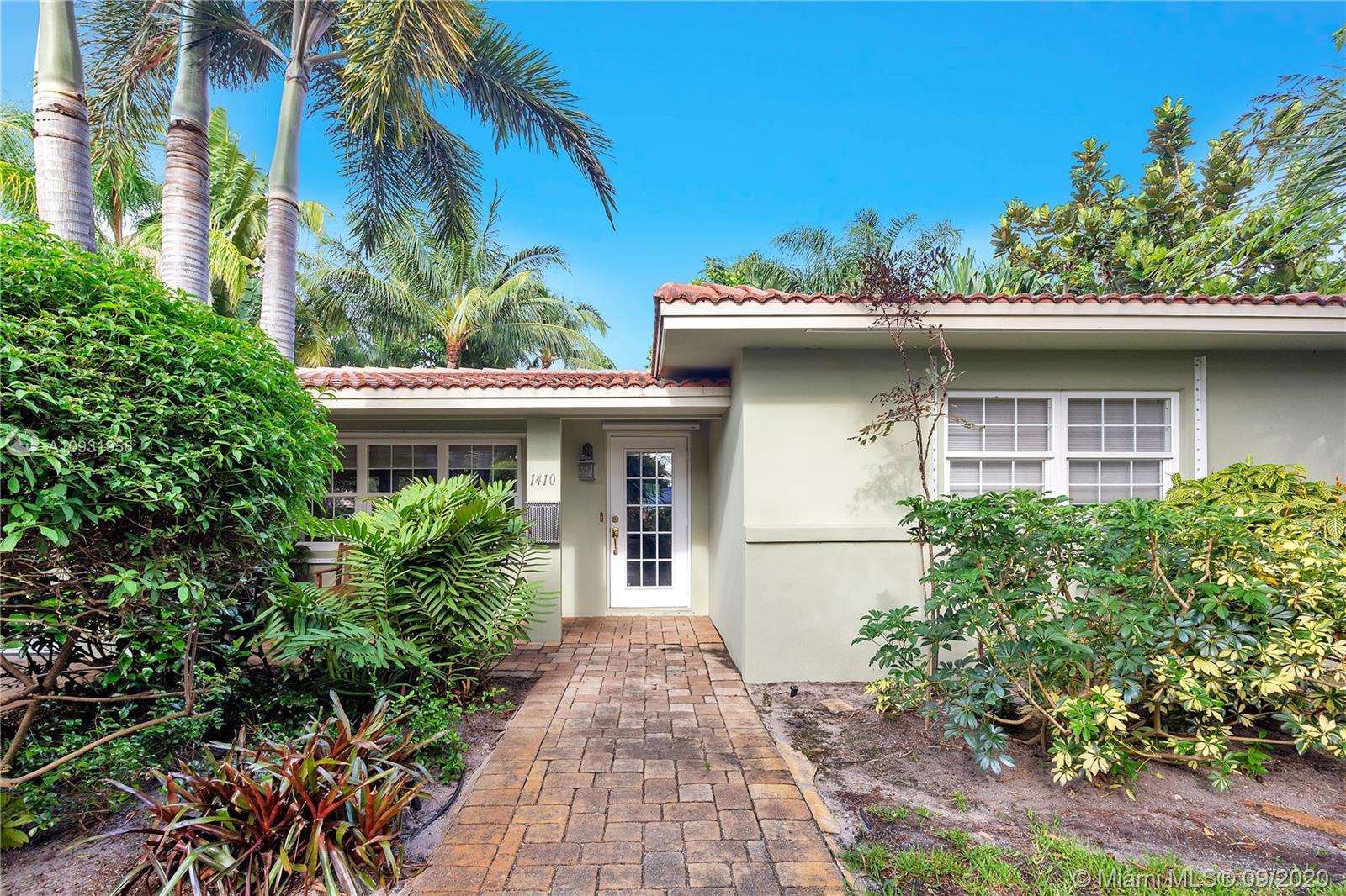1410 NE 16th Ave  For Sale A10931956, FL