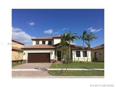 This is a spectacular 5 bed 3 bath 2 car garage home in BAYWINGS AT COZUMEL. This fine home has a full bed and bath upstairs, tiled living areas, high ceilings, huge walk in closets, Stainless steels  appliances, washer and dryer. The community has swimming pool, jog path, Gym and recreation room and an A rated charter school. The Homestead Air Base, Turkey Point, great shops and amazing restaurants are in close proximity.