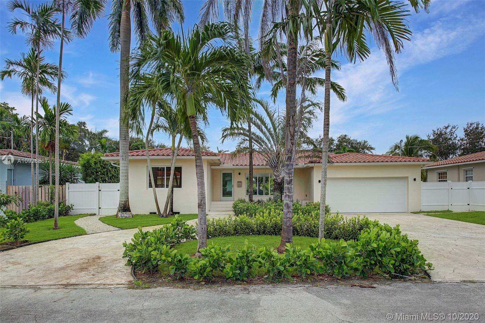 1080 NE 104th St  For Sale A10926867, FL