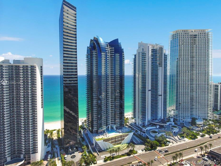 Amazing corner unit located in one of the prestigious Jade Ocean building in Sunny Isles Beach. This is a fully furnished 3 beds, 3 baths and half bathroom. Top-of-the-line kitchen, Sub-Zero refrigerators & Miele appliances. Living room with direct ocean views, walk-in closets, large bathrooms and large terraces.  Full service spa/fitness center, children's play room, movie theater, beach service, concierge, 2 swimming pools, sauna, massage, valet 24 hr and more.