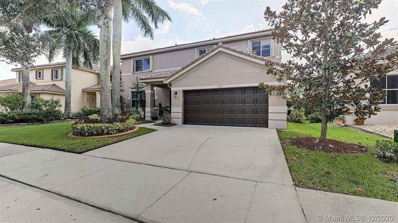 Welcome home to this amazing property located in the desirable gated community of Savannah. A two story home with vaulted ceilings, 5 bedrooms, 3.5 bathrooms, The kitchen was totally remodeled with Italian style custom made cabinets, exotic marble countertops and stainless steel appliances. Pool deck has a temperaturestablestone pool deck, full out door kitchen, it has multi level platforms, raised spa, salt water pool system,exquisitely designed with plenty of space for entertaining, two car garage, accordion hurricane shutters. This house was upgraded with impeccable taste in a very exclusive community, with a children's playground, beautiful lakes, and 24hrs Security. community gym, A+Schools, shopping centers, parks, major highways and main streets.