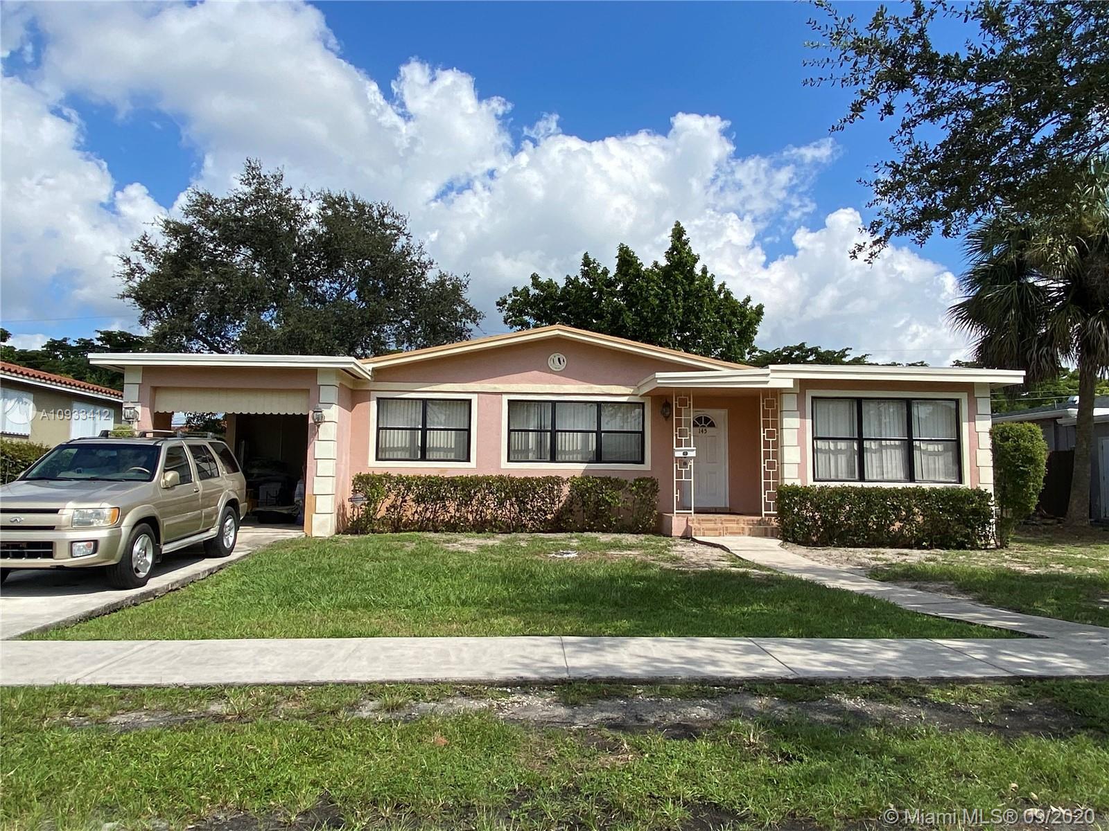 145 NE 130th St  For Sale A10933412, FL