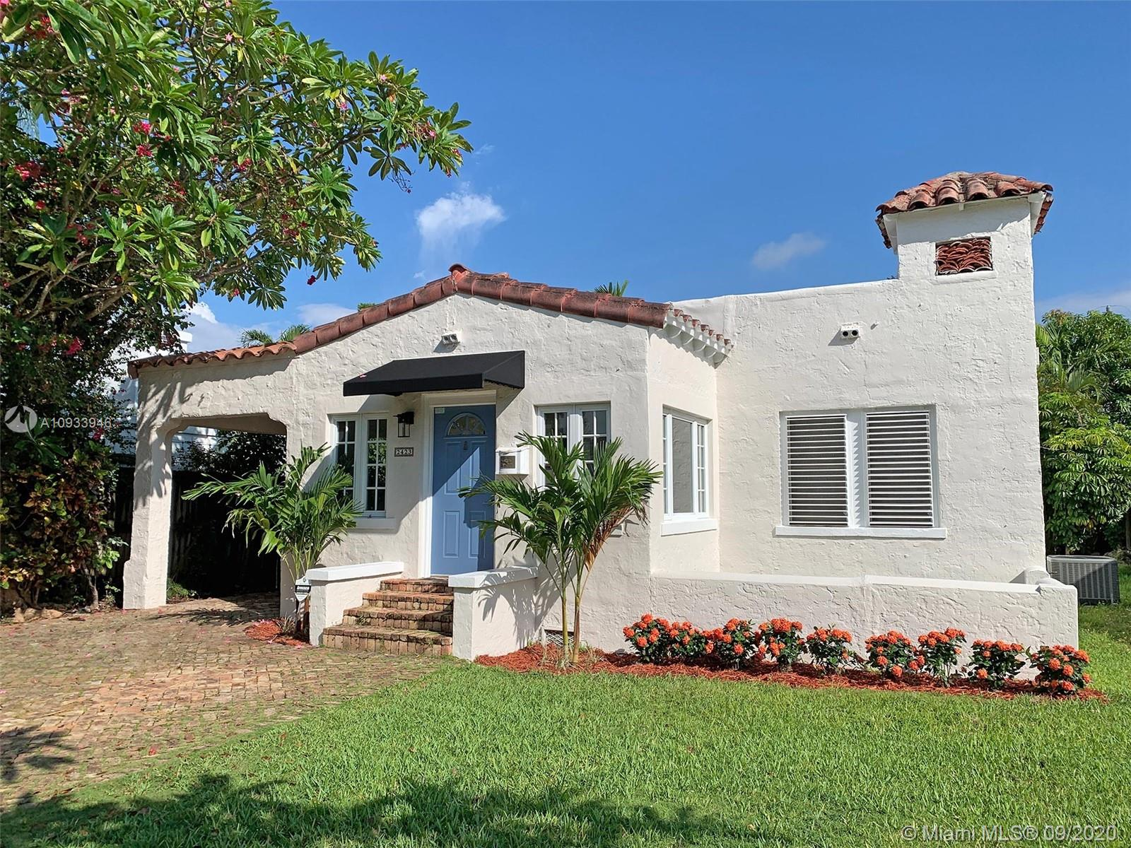 2423 SW 25th St  For Sale A10933946, FL