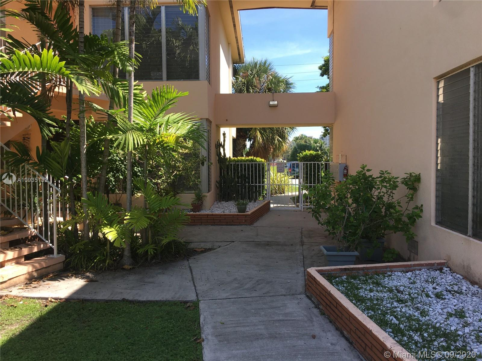 "Great Location!! Highly sought after Bay Harbor Islands 2 Bedroom 2 bath spacious unit (1645sq.ft.) in a very desirable garden style condo complex. Short walk to ""A"" rated school (Ruth K Broad Bay Elementary K- 8th), shopping, restaurants, and religious places of worship.  Few minutes from beaches and Bal Harbor Shops. Condo features upgraded kitchen with Granite Top Counters and stainless steel appliances. Bathrooms have also been upgraded. 