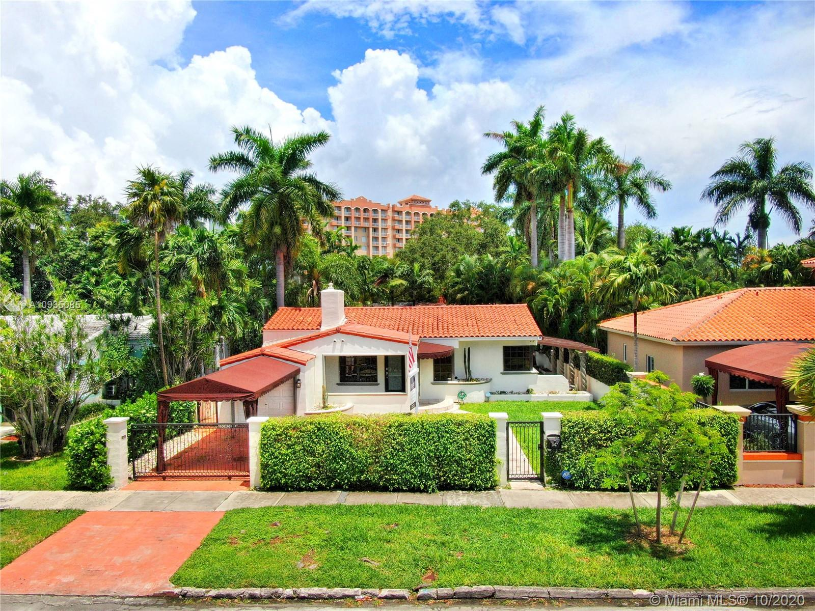 1027 SW 22 St  For Sale A10935085, FL