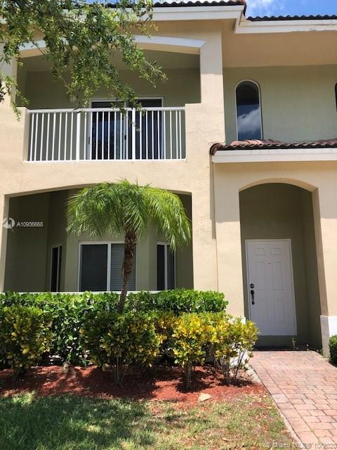 furnished 2 bedroom, 2.5 bath townhome with 1 car garage in gated Cali Greens at Keys Gate community.  Impact glass windows throughout, granite in kitchen, tiled first floor, carpet upstairs and much more.  Association fee includes AT&T U-Verse TV and internet, alarm monitoring, 24 hour roving security, gated entrance, community pool and BBQ area, tennis and racquetball courts and common area maintenance.  Property is currently tenant occupied until October 31st but can be shown by appointment only.