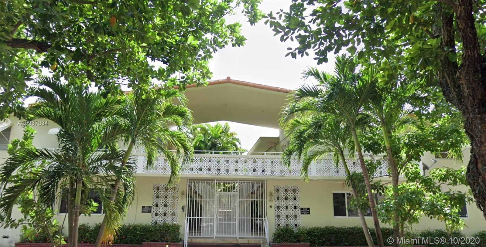 655  Meridian Ave #6 For Sale A10937834, FL