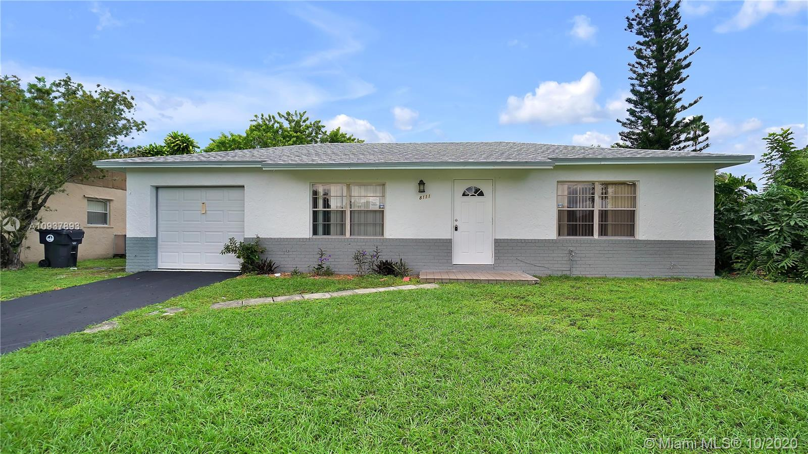 Updated home located in the beautiful community of North Lauderdale Village. This property features 3 bedrooms and 2 bathrooms, updated kitchen, new roof, central AC, large patio, 1-car garage, spacious bedrooms. Move in ready! Close to all major amenities, jobs, highways, and shopping centers. Nice and quiet community with great neighbors.