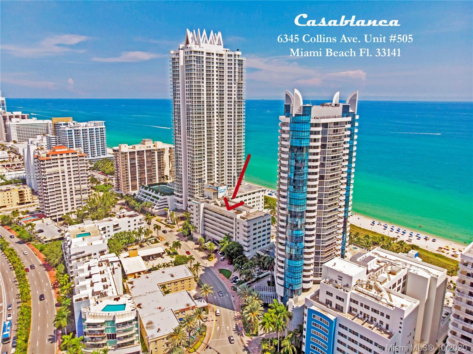 6345  Collins Ave #505 For Sale A10938246, FL