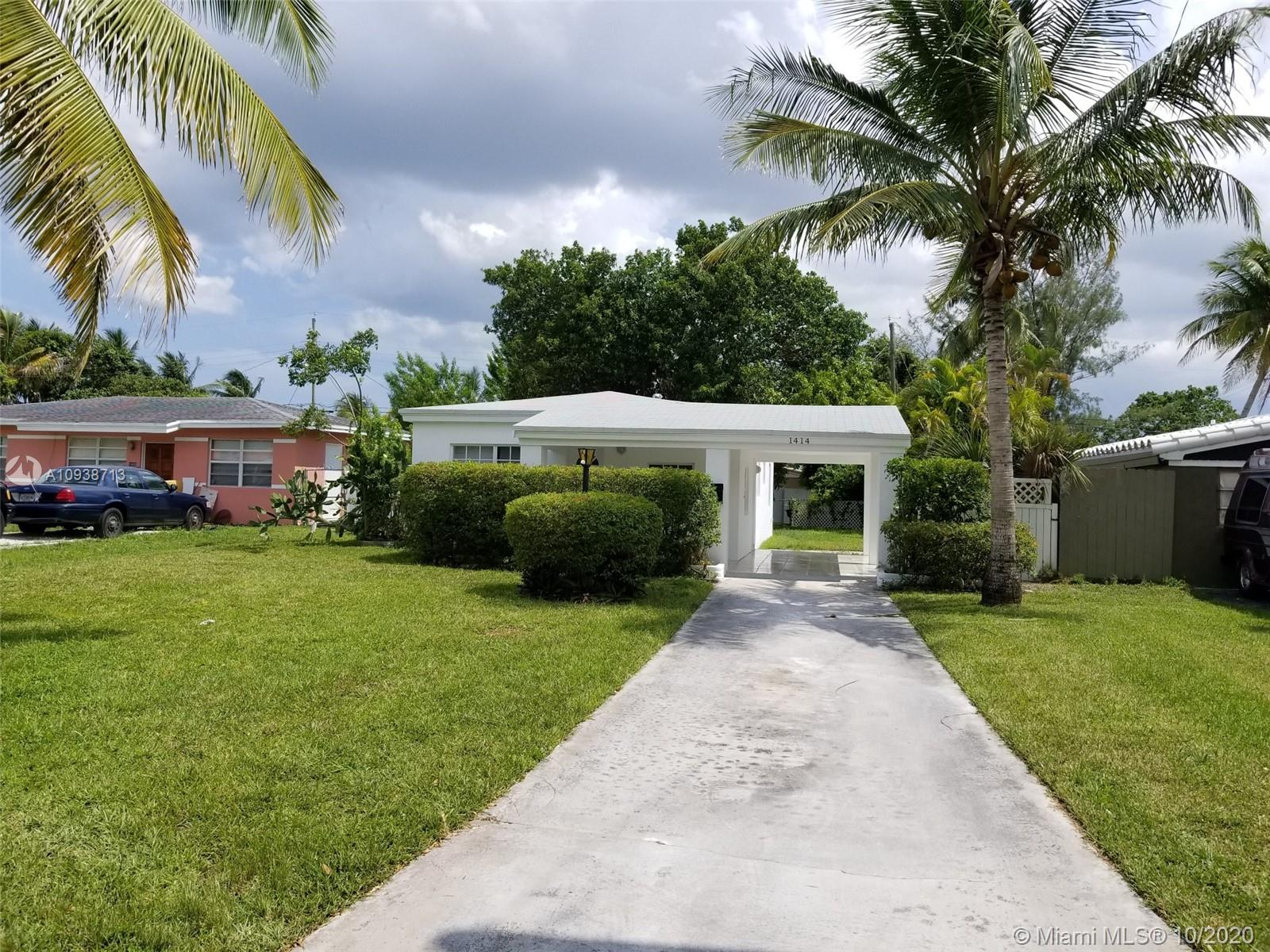 1414 NE 175th St  For Sale A10938713, FL