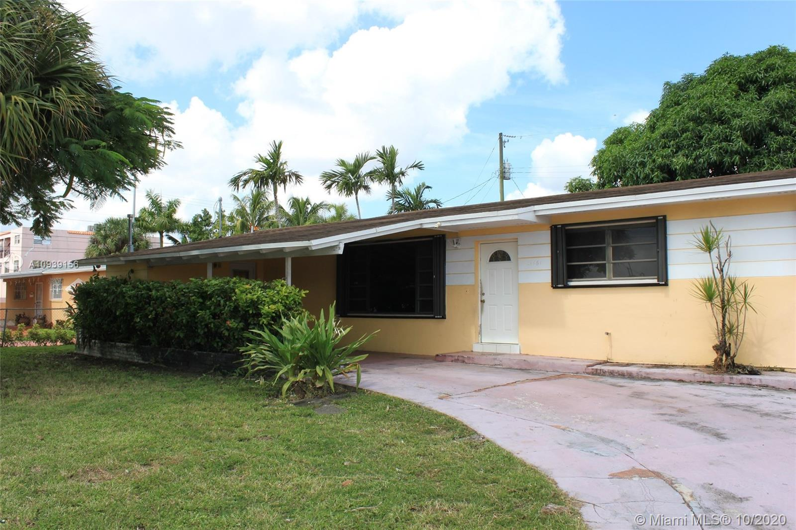 1161 W 53rd St  For Sale A10939156, FL