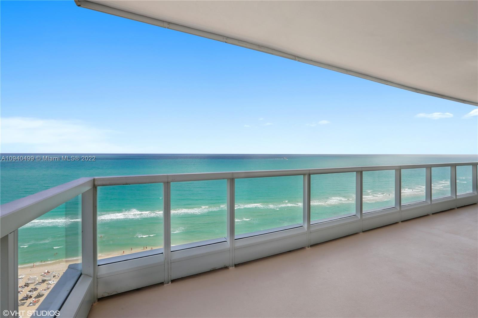Beautiful 1BD/1.5 BA w/unobstructed direct views of the ocean at Fontainebleau III. Enjoy full service, vacationstyle living in a furnished turnkey unit with king bed, sleeper sofa & more. Enroll in hotel rental program & receive income while away! The Fontainebleau Resort offers luxury amenities on 22 oceanfront acres including awardwinning restaurants, LIV night club, Lapis spa & state-of-the-art fitness center. Maintenance fee includes: AC, local calls, electricity, valet + daily free breakfast in the owner's lounge.