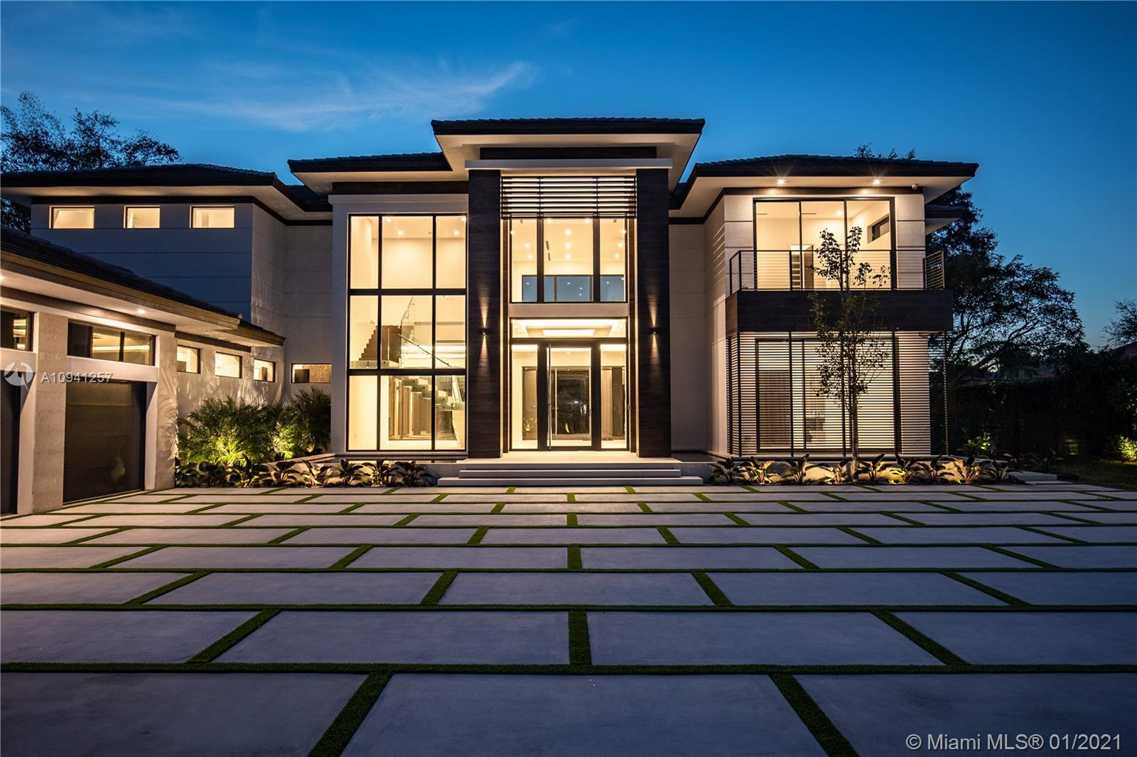 Luxury New Construction Dream Home in South Miami! Luxury features include: 8 Bedrooms   7 1/2 Bathrooms   3-Car Garage   Separate Guest Home   Theater / Media Room   Fully Gated Drive-through Lot   Gourmet Kitchen   Covered Patio   Summer Kitchen   Luxurious Pool   Spa   Grand Water Finishes   Energy Efficient Home   Smart Home Features   Lushly Landscaped Lot   Many more features!