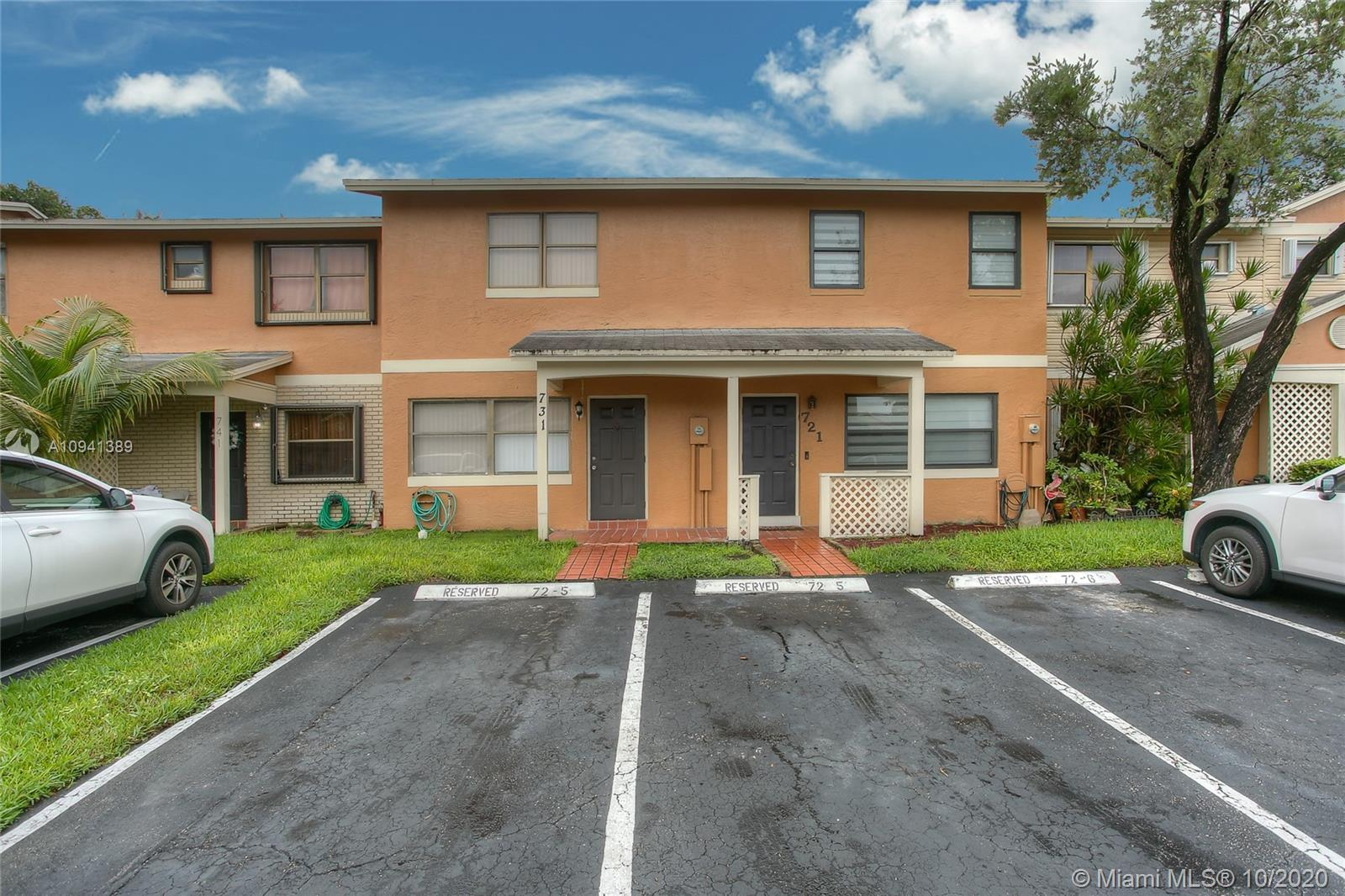 731 NW 106th Ave #731 For Sale A10941389, FL
