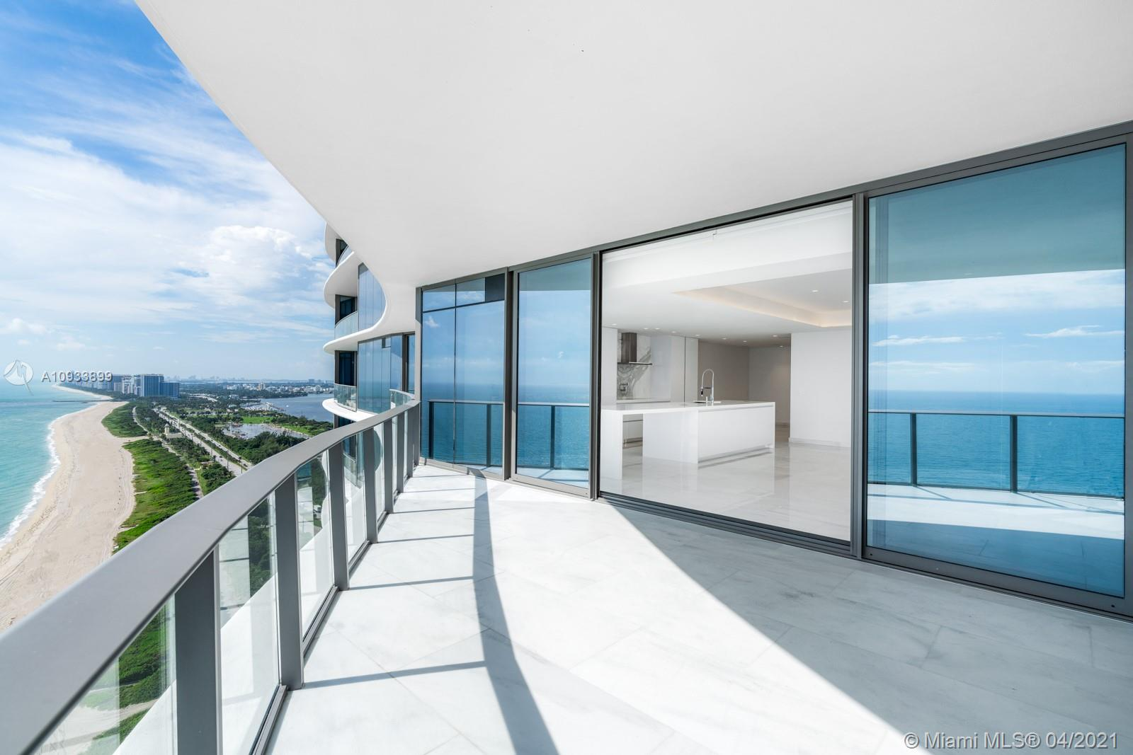Be one of the first to move into this turnkey oasis in the Ritz Carlton Residences in Sunny Isles Beach. This unit has been completely custom built and finished to perfection. Designed by award-winning Britto Charette, this 2,800 sqft 3-bedroom, 3.5-bathroom unit is one of the first and only units that is move-in-ready. The unit features a Snaidero kitchen and Gaggenau appliances,a complete Control4 home automation system, Seura mirrors, in-celling speakers, Hunter Douglas window treatments, knife edge soffits, Akira millwork, pasha white marble throughout and custom Ornare closets. This unique property has all of the amenities and services that would be expected from a Ritz Carlton resort.