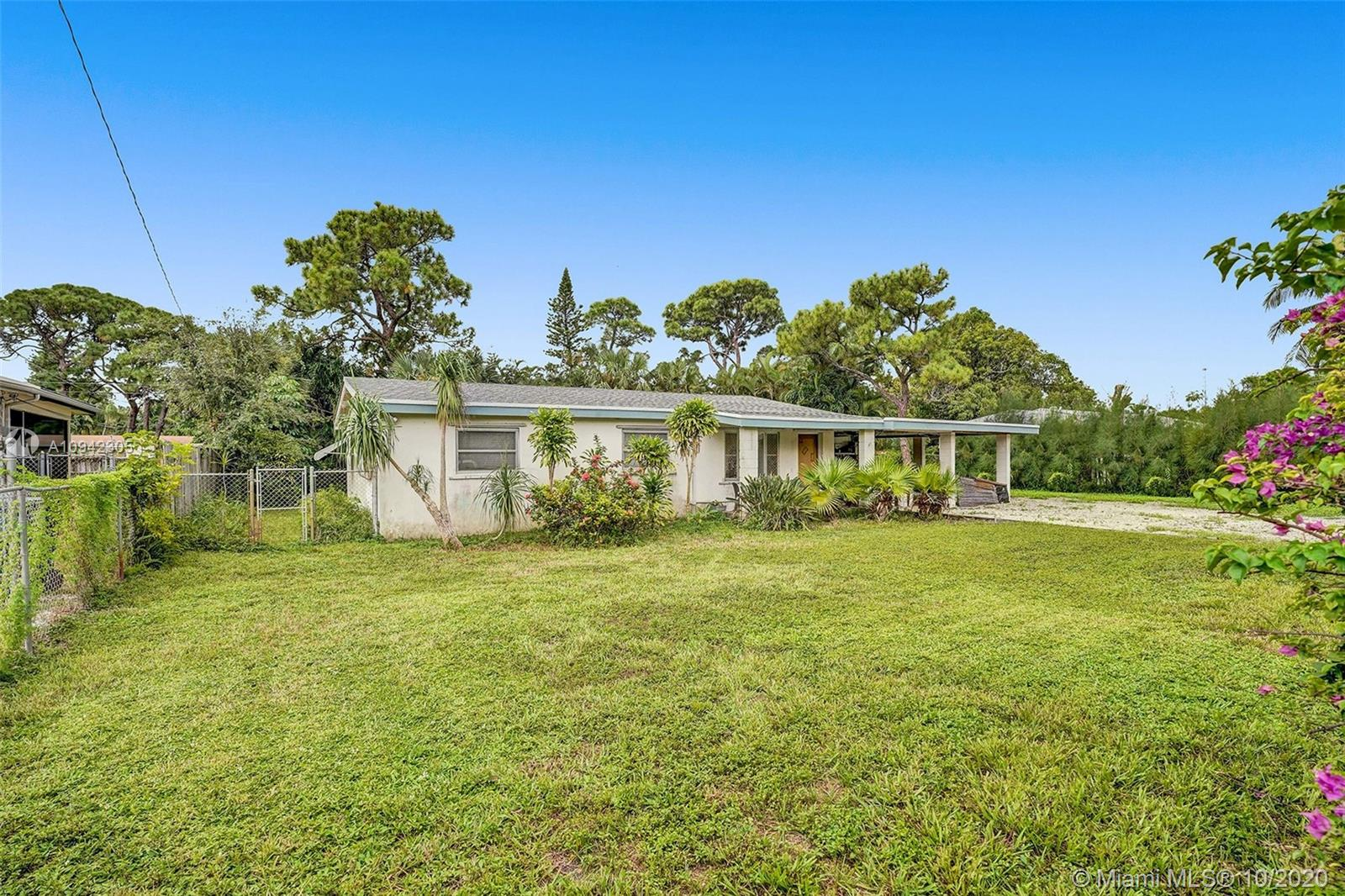 Opportunity awaits on this 1/3 of an acre property in Oakland Park. This oversized lot has plenty of room for a pool and expansion. This efficient floor plan has 4 bedrooms & a den / family room. New roof installed in 2018. Large 2 car carport with utility & storage rooms. Convenient location close to Highways & a few miles to the beach.