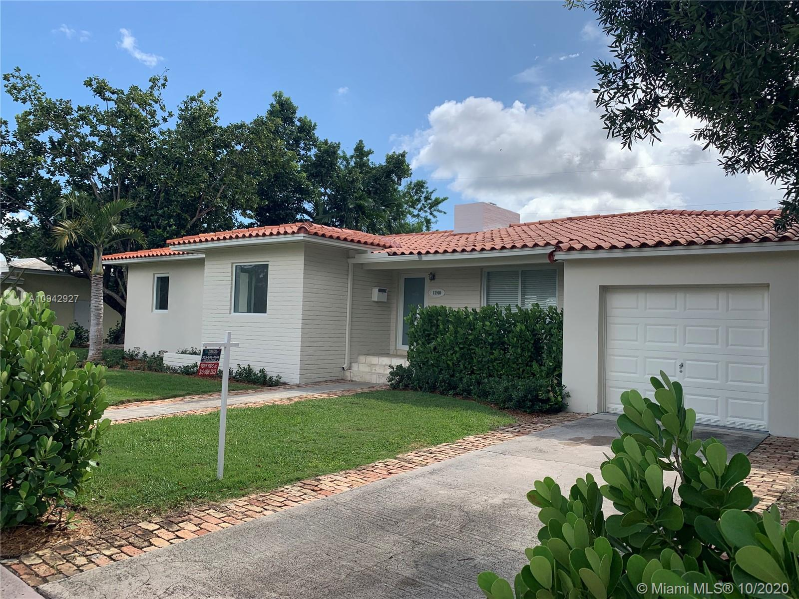 1240 S Alhambra Cir  For Sale A10942927, FL