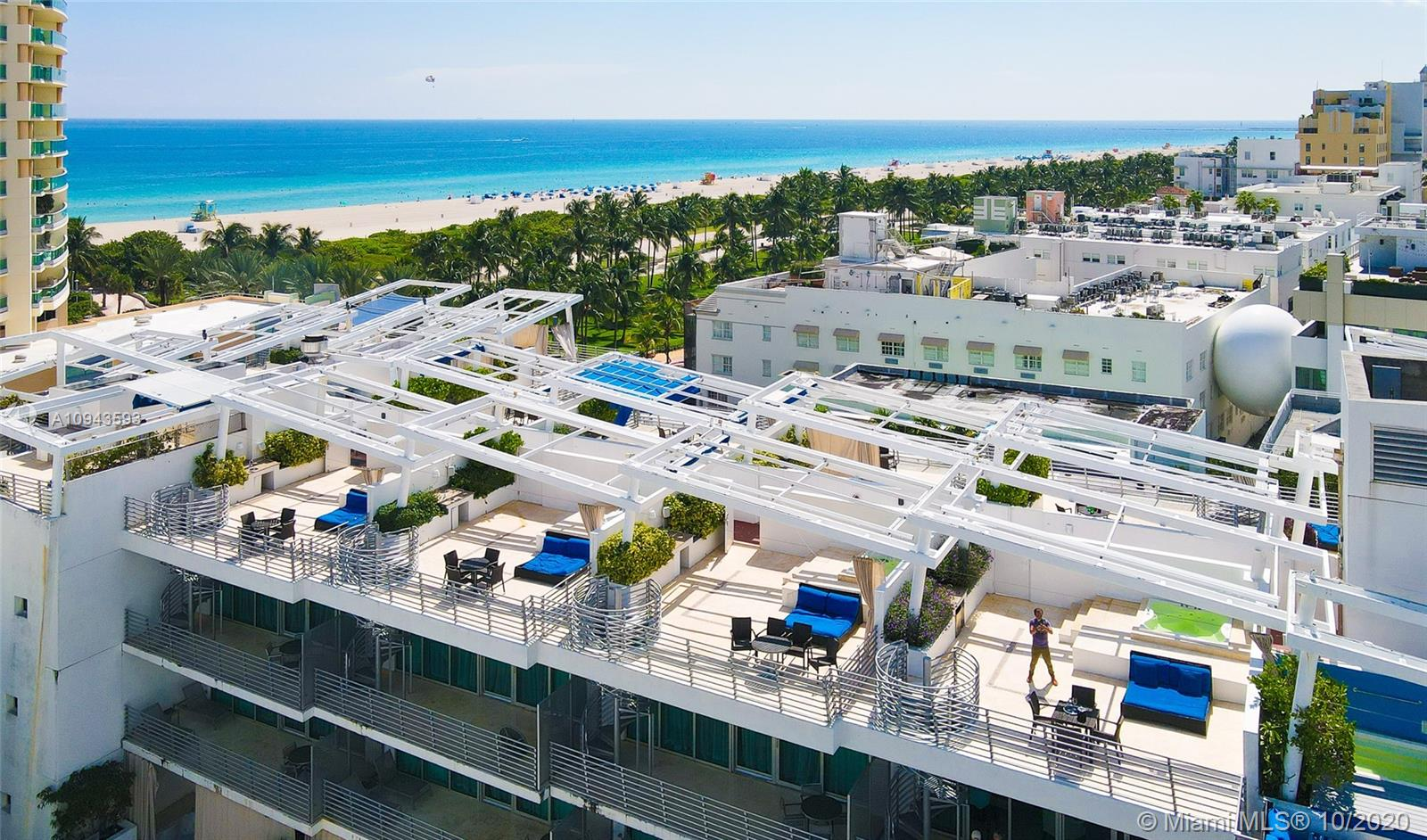 1437  Collins Ave #PH16 For Sale A10943593, FL