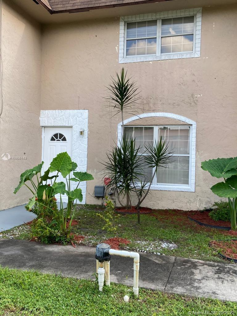 Two floor Cozy Unit!! 2 bedrooms 1.5 bath. Tile flooring, open floorplan, and inside laundry room.  Spacious kitchen. Some upgrade has been done recently on the property. Washer and Dryer are included. Great location, minutes from major roads, shopping plazas, and airport. Excellent opportunity for an investment