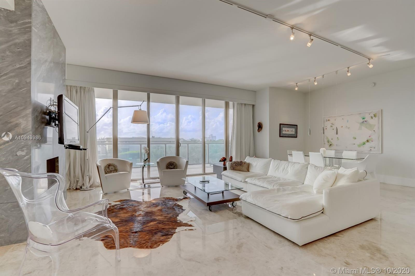 Welcome home to the most luxurious building in Bal Harbour, the St. Regis. The unit has been completely remodeled with designer finishes. Enjoy luxury living with park and skyline views from soaring glass walls and extra deep terraces.  Enjoy a surplus of natural lighting with floor-to-ceiling windows, open gorgeous chef's kitchen, wine storage & double ovens; generous living areas and world class amenities. This includes access to the five star resort spa, oceanfront cabanas, 24-hour concierge, valet parking, housekeeping, room service, chef services, and more!