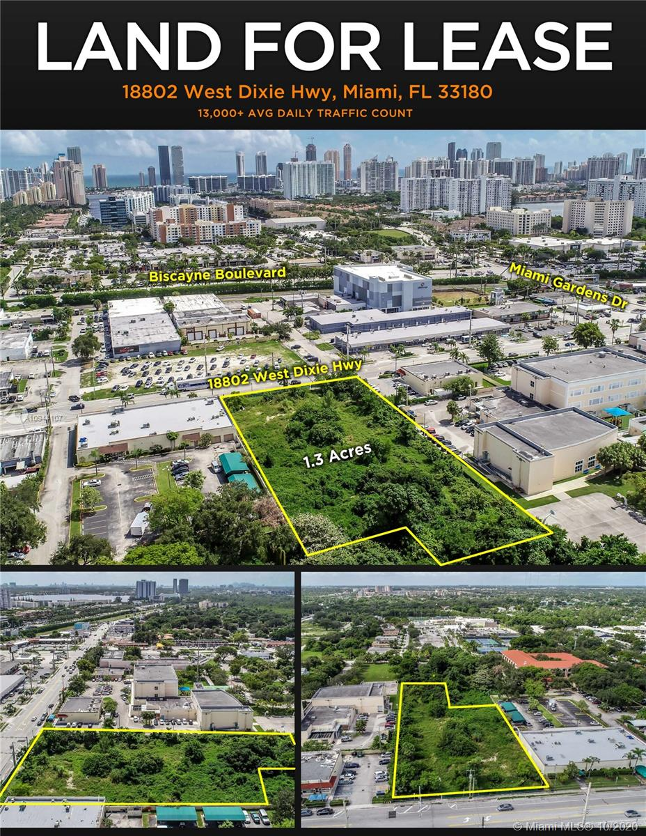 18820 W Dixie Hwy  For Sale A10944107, FL