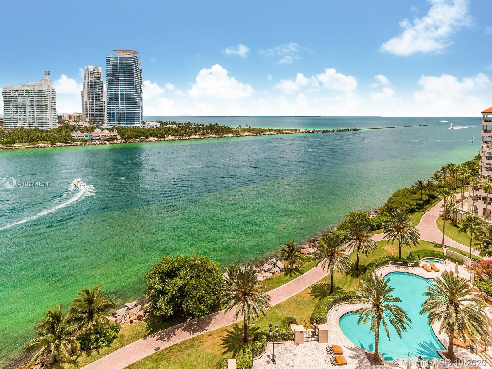 7141  Fisher Island Dr #7141 For Sale A10944814, FL