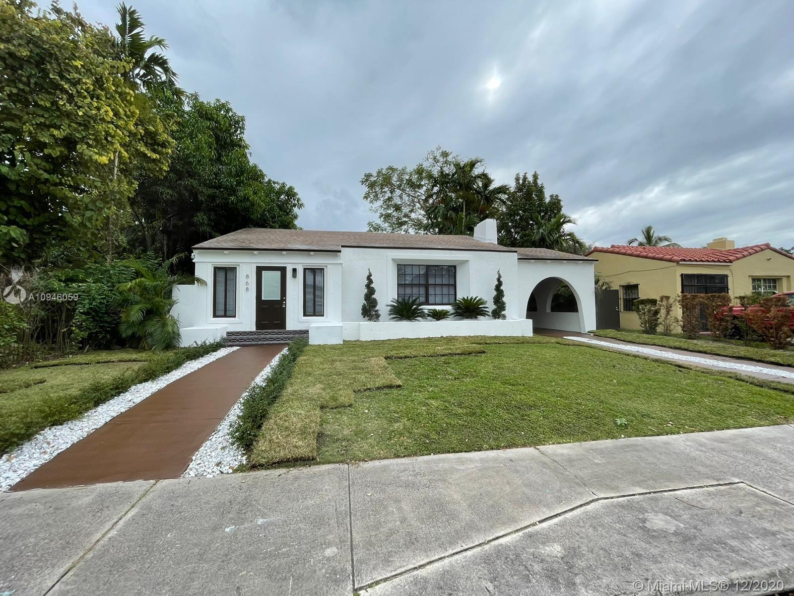 868 NE 82nd St  For Sale A10946059, FL