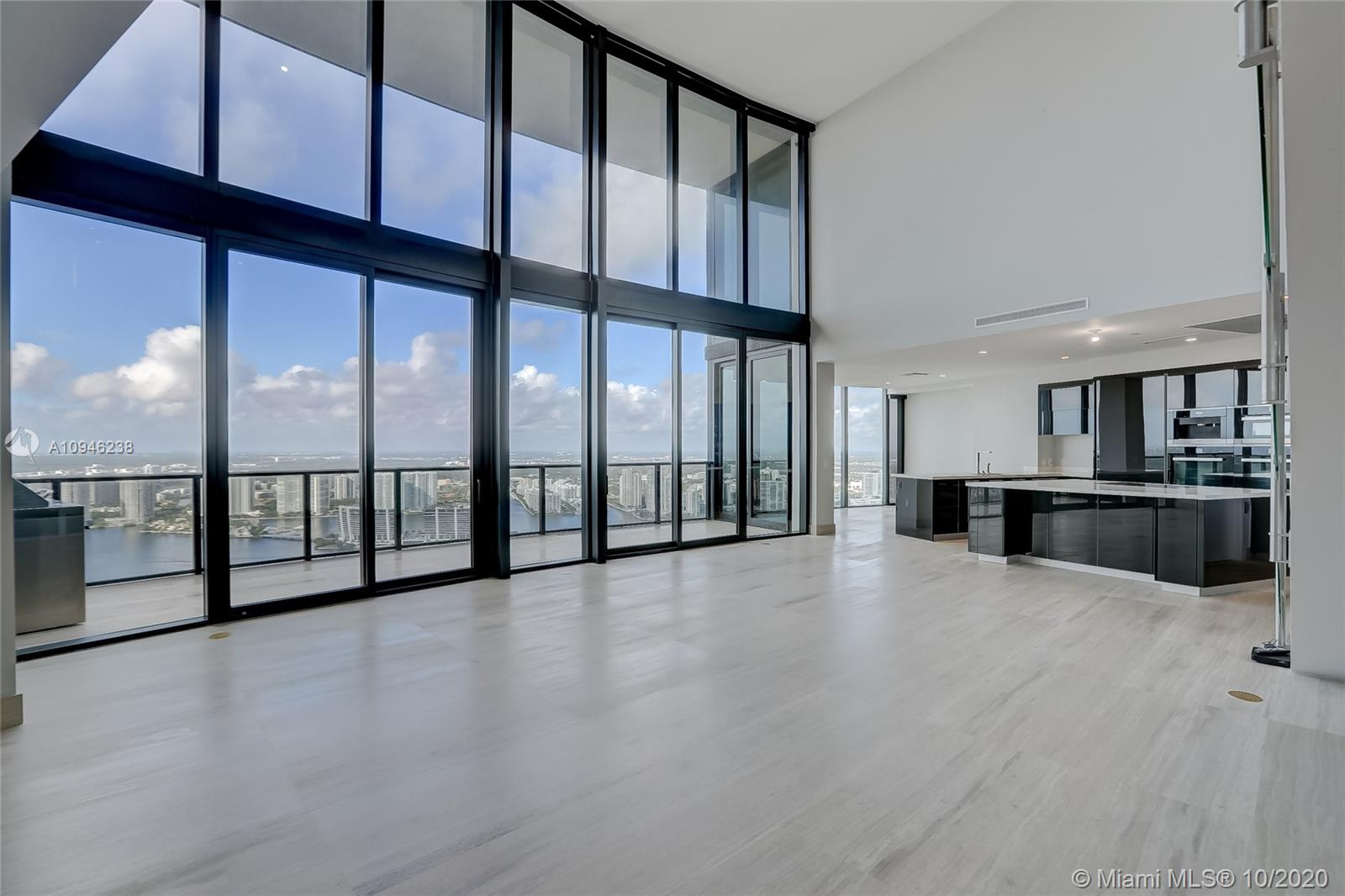 Be the first to live in one of only 16 exclusive Duplex residences in the entire Porsche Design Tower completed with marble flooring throughout, double ceiling balcony, living and summer kitchen area, separate den on the second floor, incredible intracoastal and ocean views, and high-tech car elevator system that can transport two cars up to your private home. Amenities include oceanfront gym & spa, pool & beach service, restaurants, theater, virtual golf, race car simulator, and more.