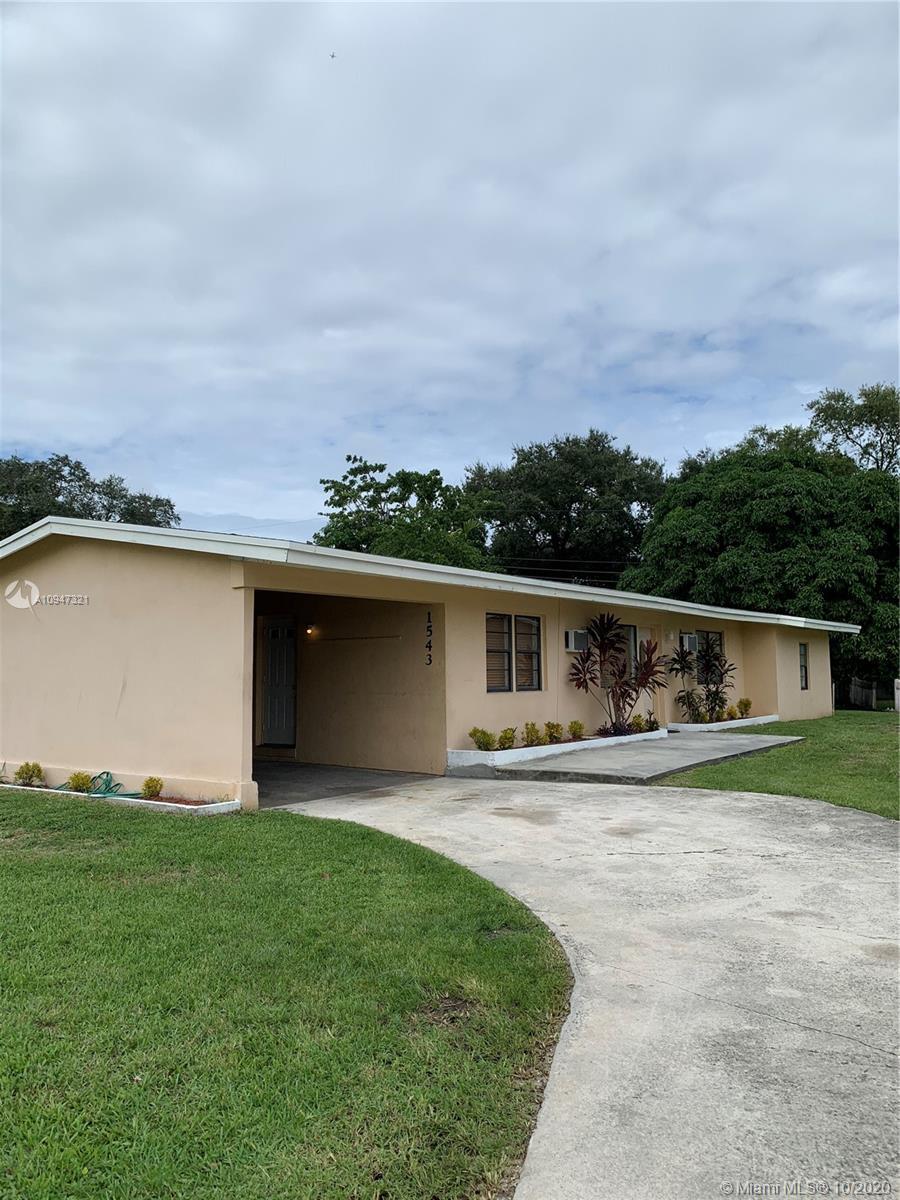 1543 NE 148th St  For Sale A10947321, FL