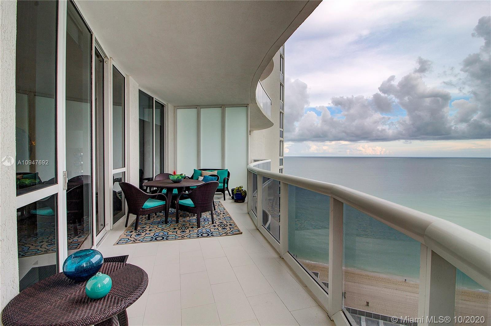 Beautiful 3 Bedrooms/ 3 Bathrooms Ocean Front Unit in Trump Tower II Sunny Isle, walking distance to shops, restaurants and supermarkets.   The unit is loaded with upgrades such as high end Subzero Refrigerator, Bosh oven and stove, Granite tops and much more.  Breathtaking views to the Ocean and intracoastal.  the unit sits on the 12th floor with a PRIVATE elevator and hallway.  Lots of space in this 2106 sq ft apartment.  The building very well maintained.World class amenities including a full service restaurant as well as Beach service.  ASKING PRICE IS FIRM WITH LITTLE TO NO ROOM FOR NEGOTIATION!