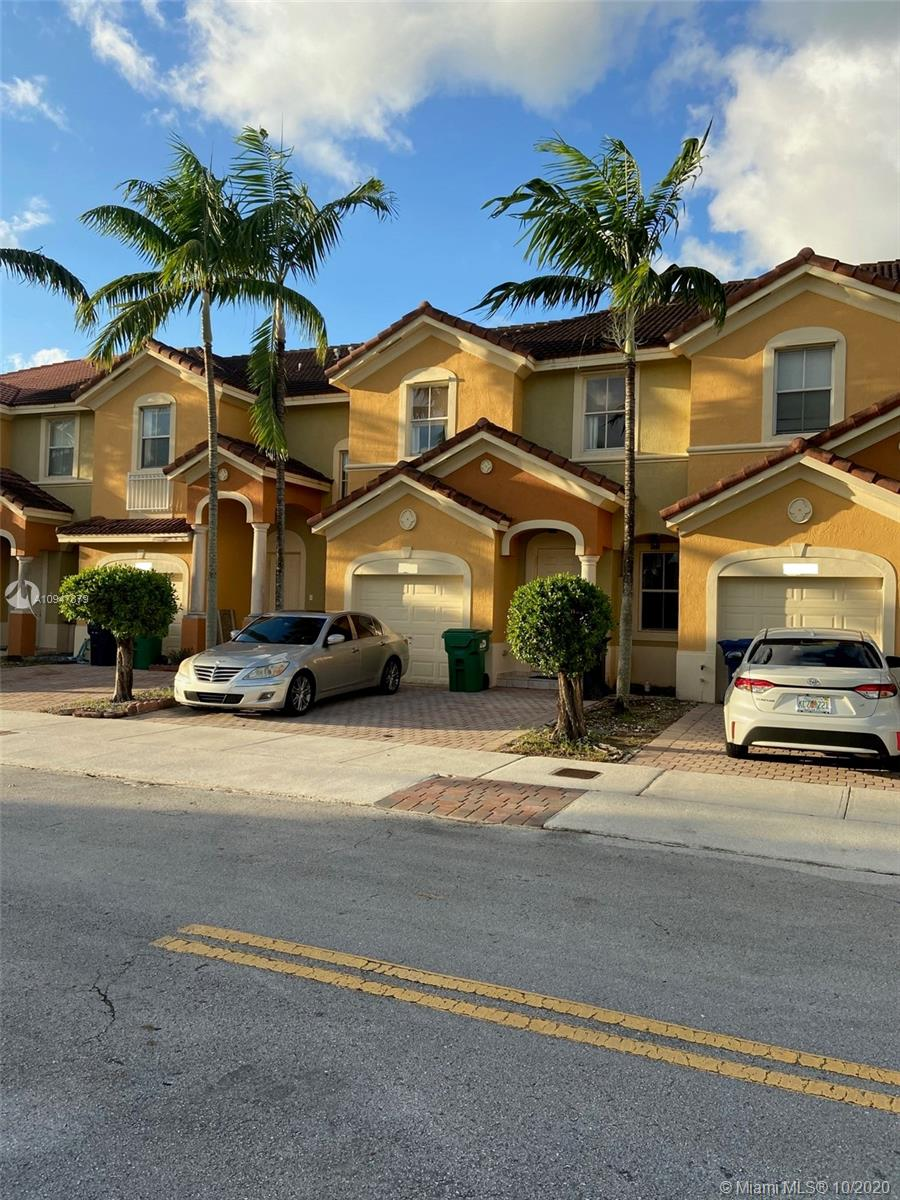 Impeccable townhouse 3/2.5 in West Kendall , great location, unit will have new carpet and fresh painted, AC only few years. Tile throughout back yard, great space for BBQ with friends.  For complete address please contact listing agent. Available Dec 15.
