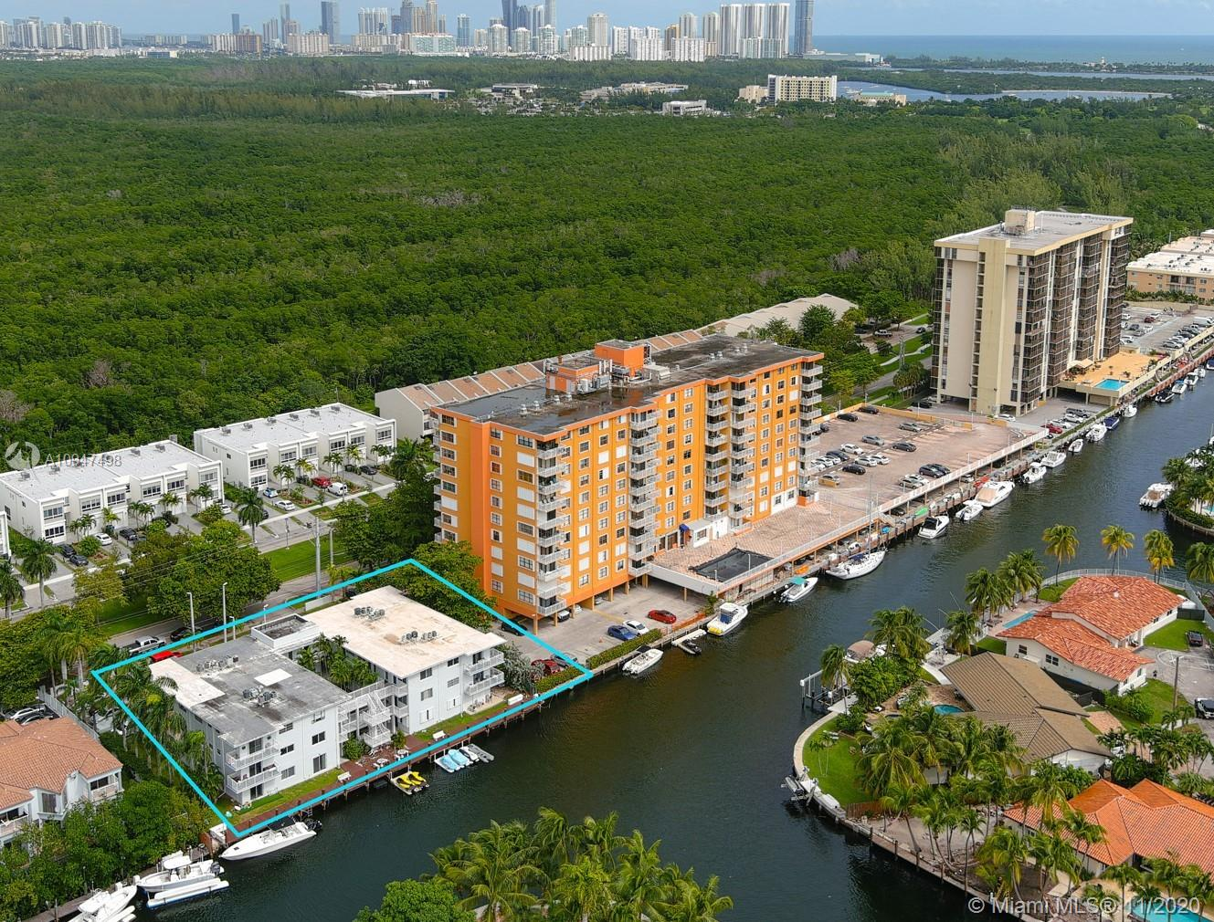 Beautiful remodeled waterfront condo, 750 sq ft and 33 ft dock included in this amazing price, with folios #06-2229-091-0250 for the condo and folio #06-2229-091-0320 for the dock.  Recently impact windows and doors were installed in this unit.  The open modern kitchen opens to the living space making everything flow. Master has a wraparaound balcony overlooking the canal and dock area. 