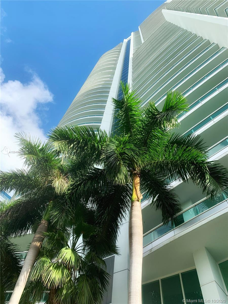 Nothing but sweeping water views, as you enter from the semi-private elevator foyer into this luxurious two bedrooms+ 3.5-bathroom, flow-through residence at the internationally known SANTA MARIA located in Brickell Avenue. Currently being FULLY RENOVATED, the residence features 2,580 of interior square feet, plus two additional oversized balconies with unobstructed water and cityscape views.