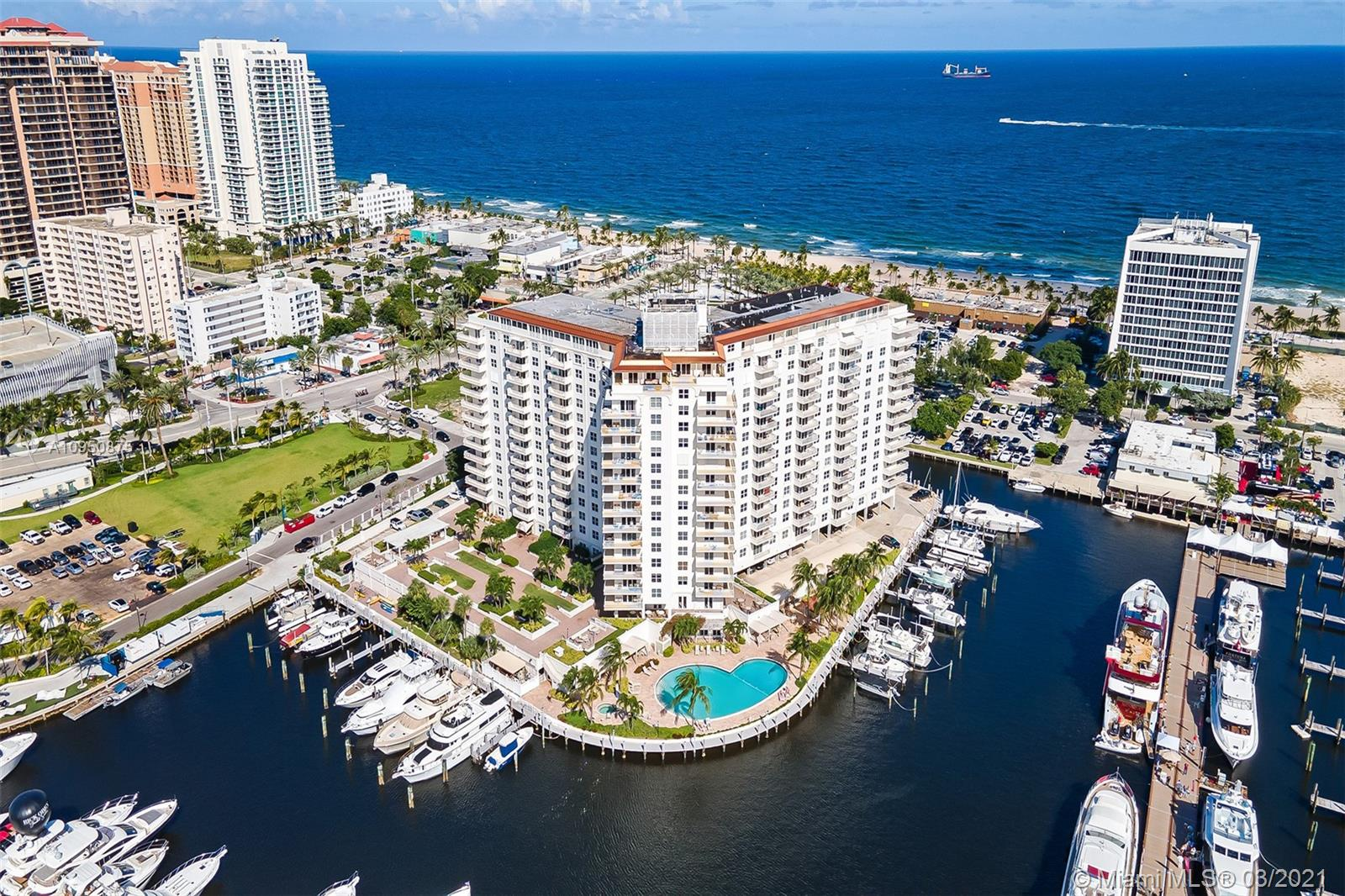 LIVE THE WATERFRONT LIFESTYLE AT THE OCEAN IN DOWNTOWN FORT LAUDERDALE*BEAUTIFUL BALCONY WITH OCEAN, BEACH & WATER VIEWS IN EVERY DIRECTION*EAST VIEW TO ATLANTIC OCEAN & PARK*MARINA WITH DOCK AVAILABLE UP TO 80 FT, NO FIXED BRIDGES, ACCESS TO INTERCOASTAL & OCEAN*COMMUNITY DOCK FOR RENT*THE VENETIAN FEATURES LUXURY RESORT STYLE LIVING*WALK TO THE BEACH & NEW PARK*10 MINUTES TO FLL AIRPORT*ENJOY TIKI BAR, BBQ, SPA, POOL, GARDENS, FREE WIFI, 24HR SECURITY, TABLE TENNIS, BILLARD, SHUFFLEBOARD, EXPANSIVE FITNESS CENTER*ENJOY THE DOWNTOWN RESTAURANTS, ENTERTAINMENT, SHOPPING, FARMERS MARKET & BUSINESS DISTRICT*2 BED/2 BATH 1,500sqft UNIT FEATURES SPLIT BEDROOM FLOORPLAN*PORCELAIN TILE*FULLY FURNISHED, IF BUYER DESIRES*OK TO RENT*VACANT & READY TO SHOW*DOCK RENTAL $1500-$6000 PER YEAR