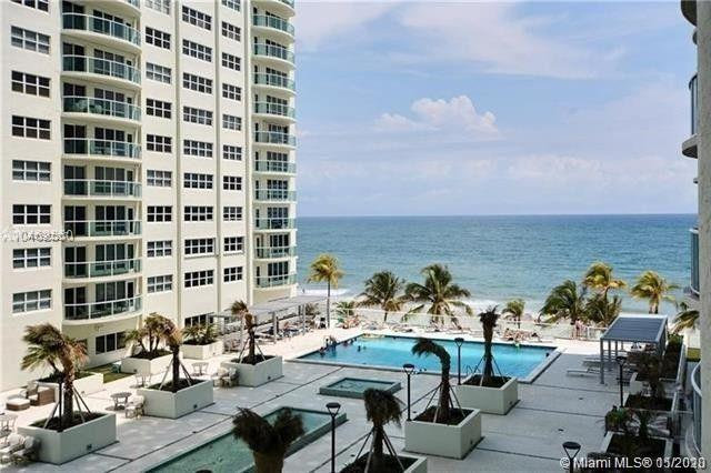 South side condo with direct ocean view.