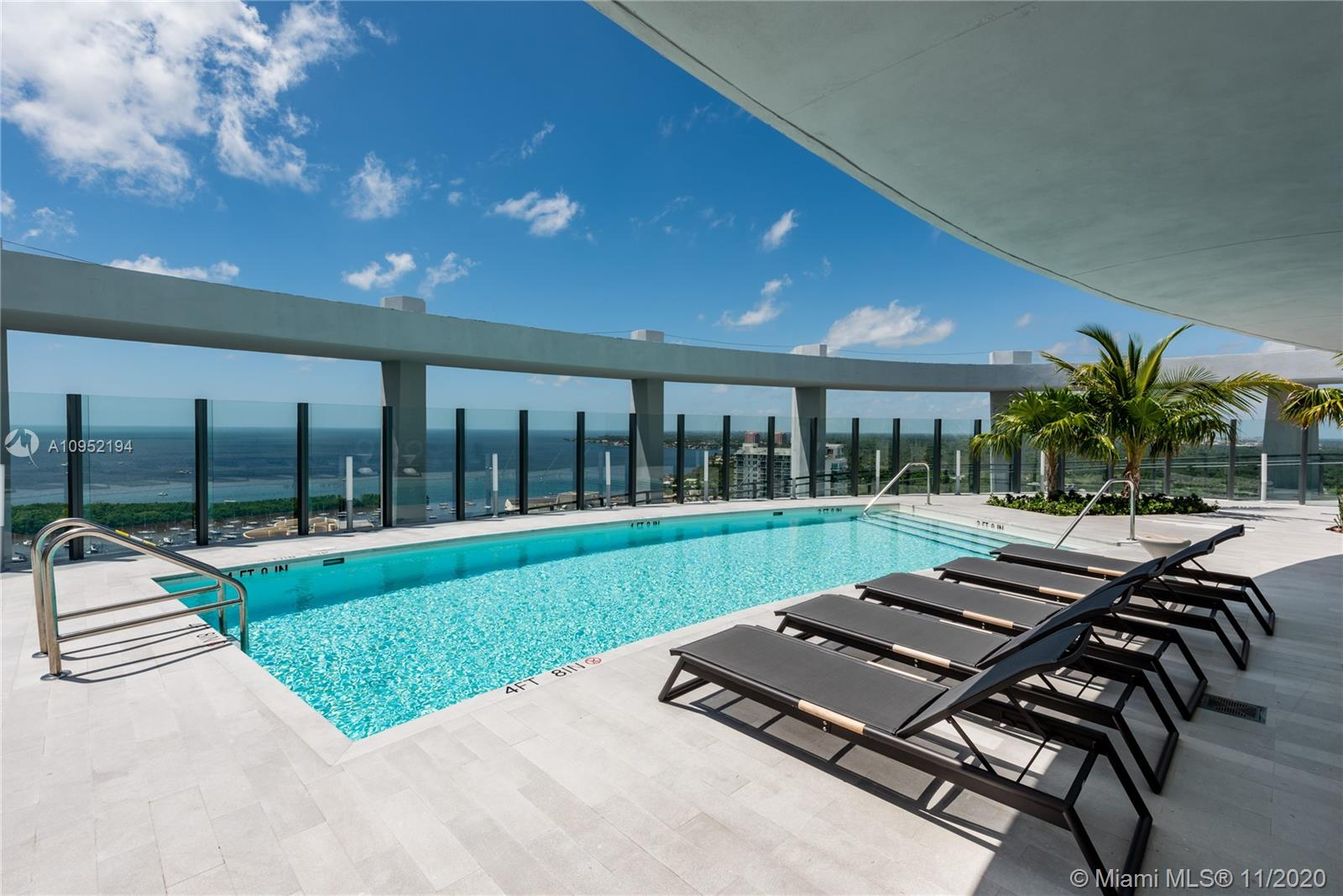 LUXURY RESORT PARK GROVE. 2 BED + DEN/ 2 BATHS LOCATED IN THE HEART OF COCONUT GROVE. 5 ACRES OF LUSH GARDENS DESIGNED BY ENZO ENEA.10 FT CEILINGS, TOP OF THE LINE APPLIANCES, WOLF STOVE AND SUBZERO REFRIGERATOR. ROOF TOP POOL GYM, KIDS ROOM, WINE STORAGE, BAR AND MORE.