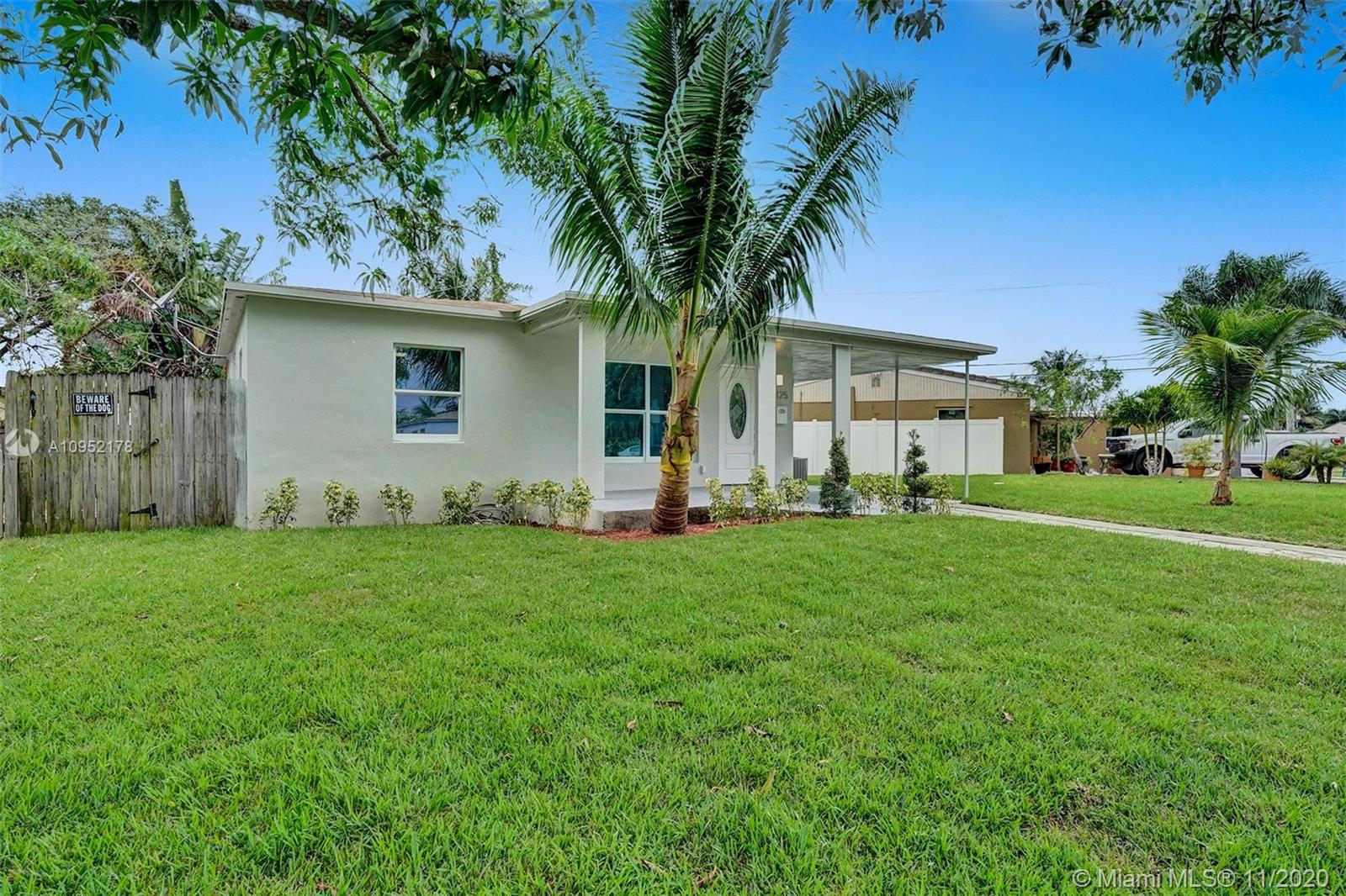 BEAUTIFULLY FULLY REMODELED 2 BEDROOM 2 BATHROOM HOME IN THE HEART OF OAKLAND PARK! PERFECT TURN-KEY HOME OR VACATION RENTAL OPPORTUNITY! HOME FEATURES ALL HURRICANE IMPACT WINDOWS AND DOORS, 2018 SHINGLE ROOF, 2014 A/C UNIT, BRAMD NEW ELECTRIC TANKLESS WATER HEATER, NEW BATHROOMS, NEW IRRIGATION SYSTEMS WITH NEW PLANTS, NEW CUSTOM KITCHEN WITH HIGH-END EUROPEAN CABINETS, BRAND NEW STAINLESS STEEL APPLIANCES, QUARTZ COUNTERTOP, RECESSED LIGHTING THROUGHOUT, VERY LARGE BACKYARD NICE FOR ENTERTAINMENT OR TO BUILD A POOL, SPACIOUS DRIVEWAY, FRESHLY PAINTED INSIDE/OUT... MINUTES FROM SCHOOLS, BEACH, SHOPPING PLAZAS, ETC... HURRY THIS WONT LAST LONG!!