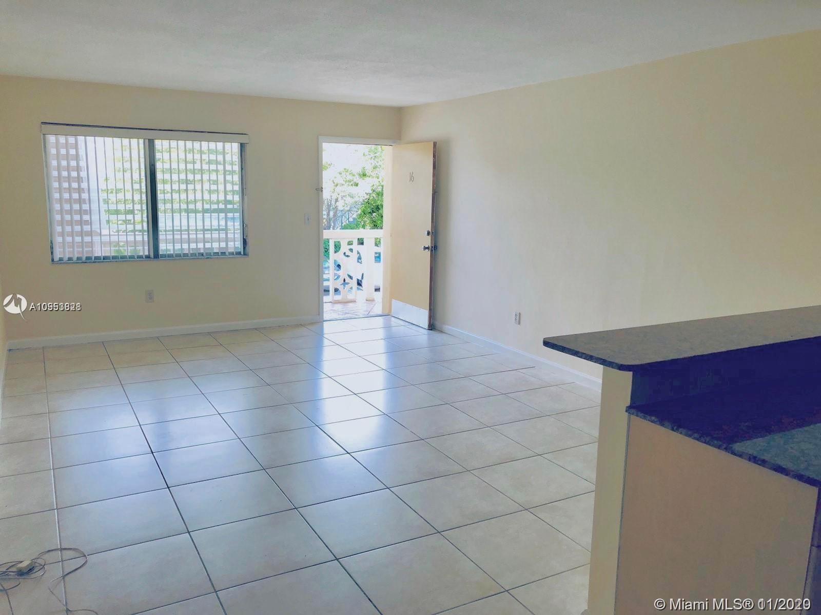 Impecable unit 1bedroom 1 bath at Golden Key Condo located in the heart of Bay Harbor Islands. One parking space included. Unit has tile floors, granite counter tops in kitchen with wood cabinets, new A/C unit. Unit is rented.