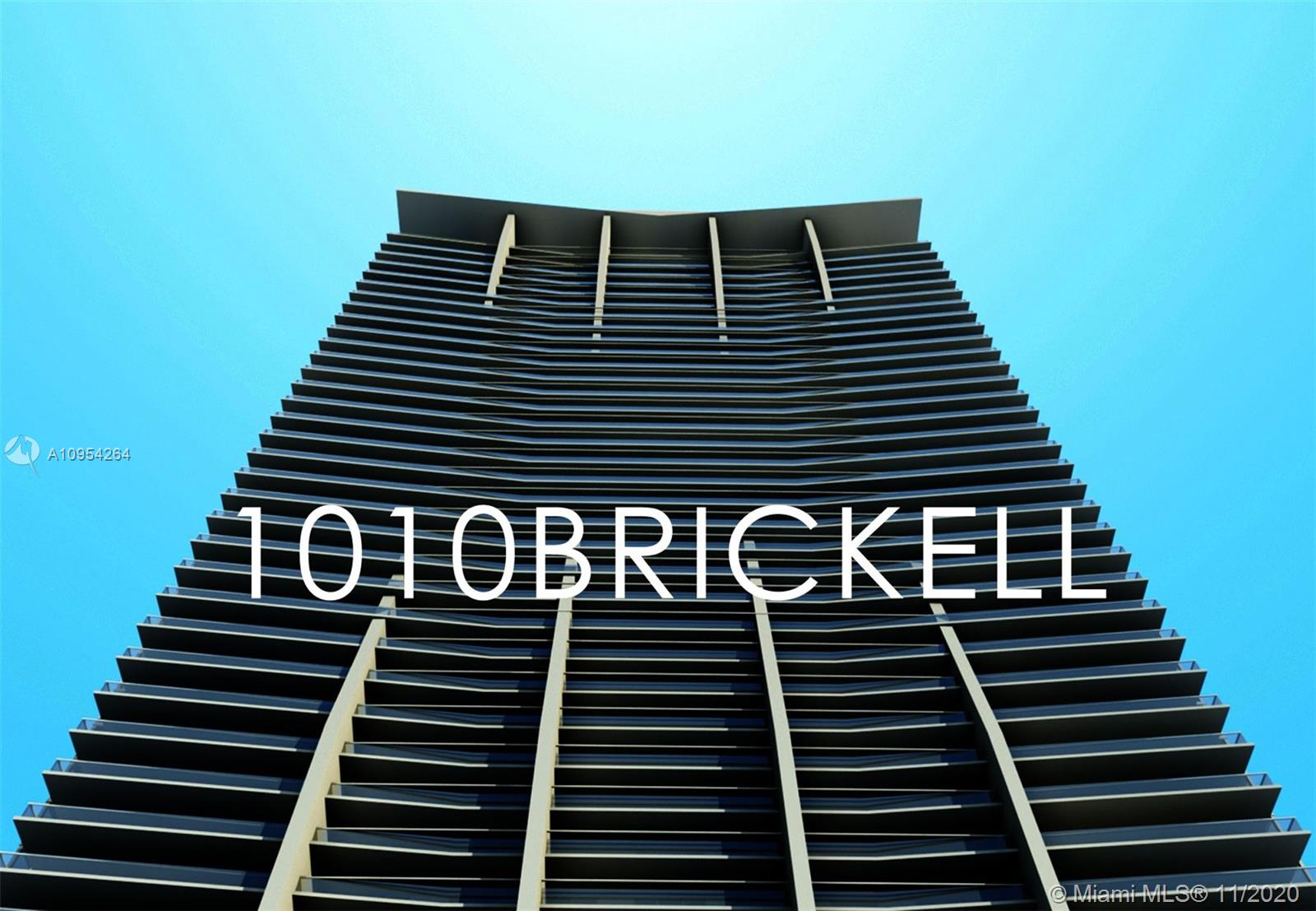 Spectacular building in the heart of Brickell. Multiple amenities including Basket Ball, two swimming pools, running circuit, gym, children's room, game room, billiards, BBQ's. The unit has white calacatta porcelain floors, high-end appliances, balcony overlooking the city, and comes freshly painted.