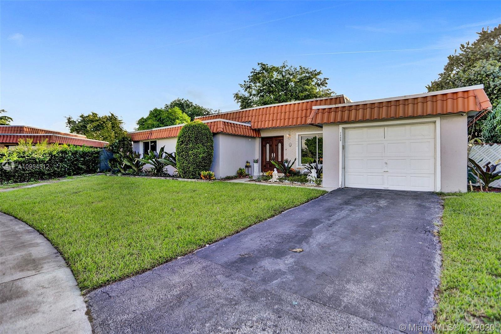 This oversized corner lot home is completely remodeled head to toe and it is ready to be shown today! This is a 4 bedroom 3 bath in the heart of Tamarac close to the turnpike, and 75. The most financially reasonable home in the market with tons and tons of upgrades to be mentioned. The home is move in ready with an over enlarged master bedroom with a secret room. The home has no back neighbors and it backs a the community park and pool. Ready for any large or small family!