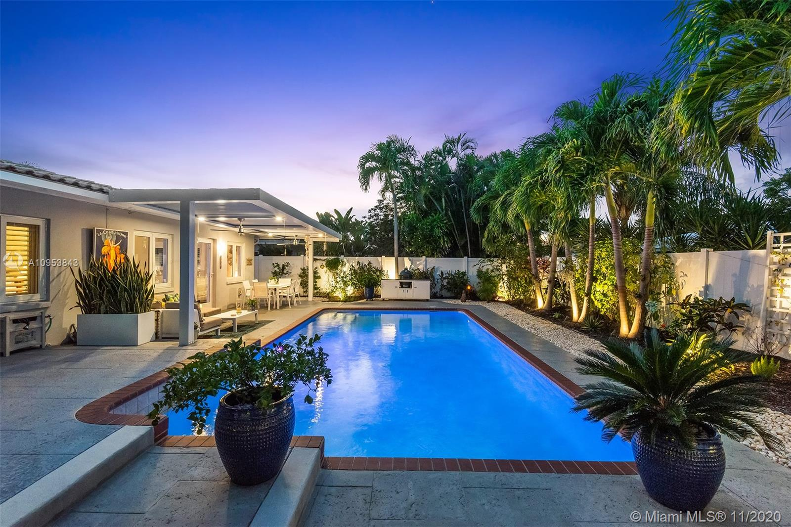 Stunning modern masterpiece! Updated 3/2 pool home in NE Fort Lauderdale! Great curb appeal, lush landscaping & a large pool! Brand New beautiful porcelain floors through out the entire home! The updated kitchen adjoins a spacious dining room & family room opening to a private pool & patio with a fully fenced in back yard! Impact Windows & Doors Throughout! 2 Car Garage with electric car hookup + many more upgrades. Great Location, Close to Beach, I-95, Shopping and great restaurants! OPEN HOUSE 1/3 from 2-5 pm