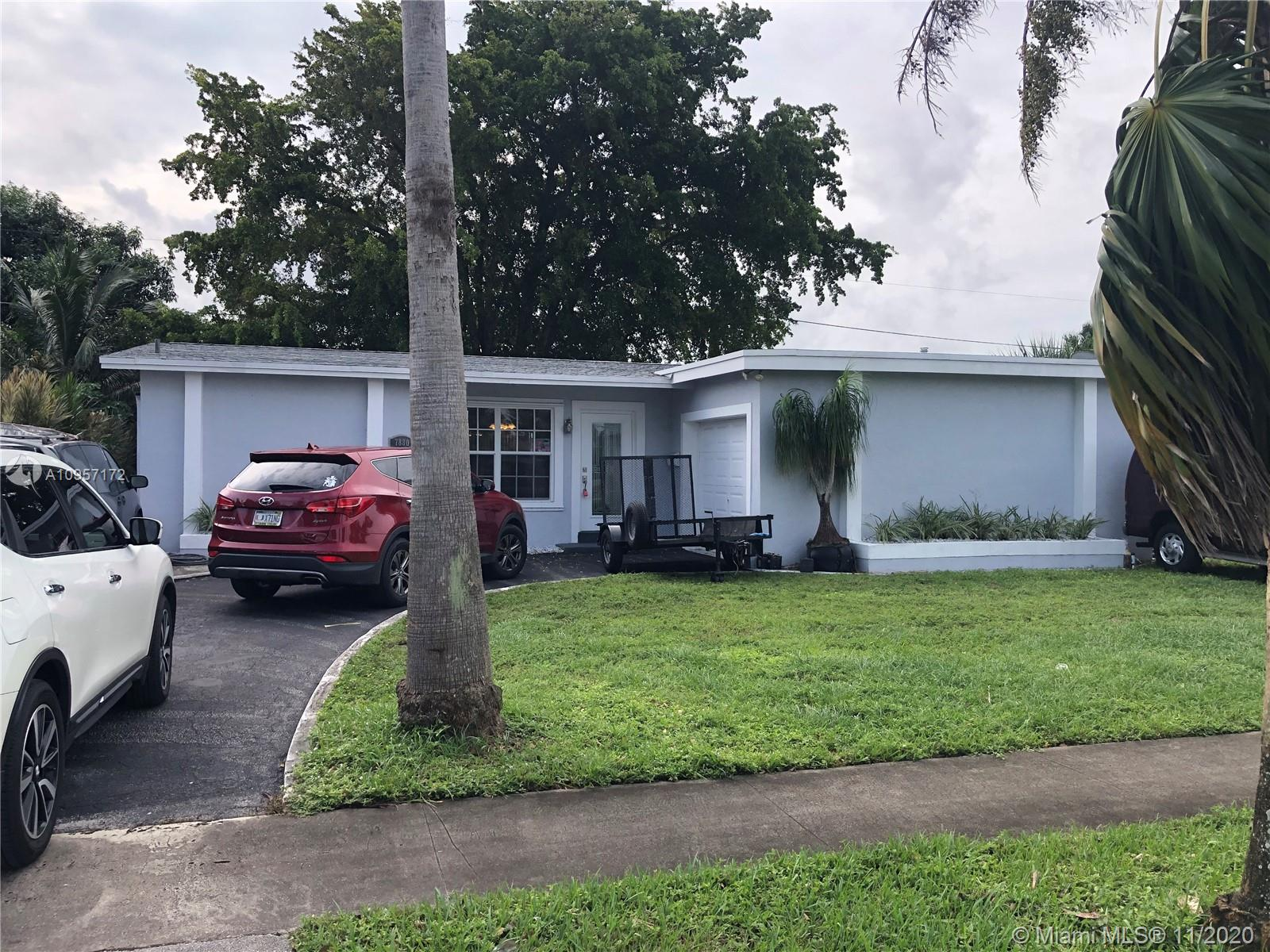 Home for sale in Sunrise. Absolute perfection! Brand new roof with lifetime warranty, new a/c, new water heater, newly painted. Shows beautifully! Bonus enclosed Florida room overlooks private & fenced backyard. One car garage. Fabulous kitchen! Split floorplan - bedrooms on each side of home. A true gem of a home. NO HOA. Great centralized location. You could walk to grocery store, banks, restaurants, and much more.