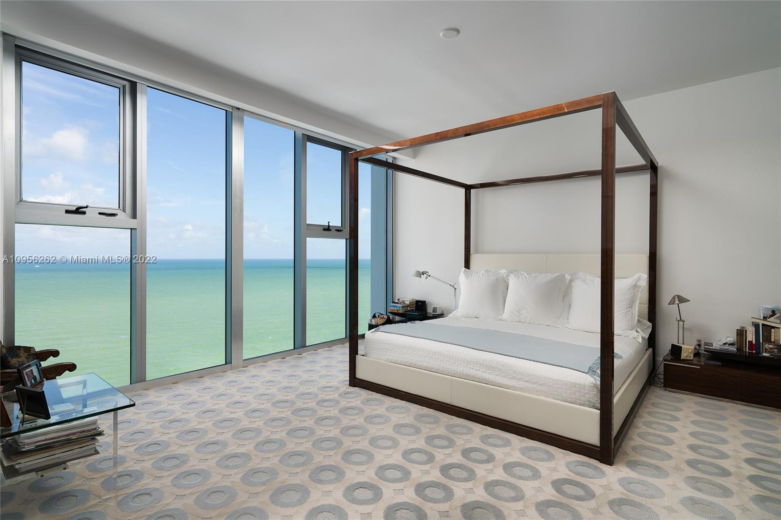 Opportunity to live in the only unit in the Carillion Miami with a unique 3,000 sf rooftop terrace with a pool overlooking the ocean and city, spanning east to west. Bask in breathtaking sunrise & sunsets views. 2 units were meticulously combined to create this 3 bedroom, 3 full & 1 half bathroom residence in the sky boasting 2,940 SF. This incredible residence boasts stunning direct ocean views, 2 principal bedrooms with expansive walk-in closets, an office, floor-to-ceiling windows, gourmet kitchen, top-of-the-line Miele appliances, Liebherr wine storage & electronic blackout shades in all rooms. Enjoy 5 star service, a 70,000 SF Spa/Fitness Center with a health & wellness center, walking & biking paths along the beach, an onsite restaurant, 4 pools, 24hr concierge & direct beach access.