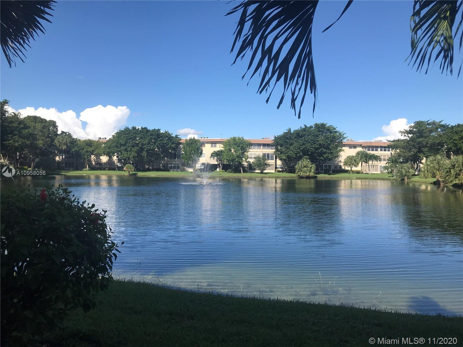 The Price is right!  Priced to sell! This 1/1 has lots of potential! The patio and living room have a great view of the lake! Give it your own touch and watch the value on this one grow! 55+ community.  Association asks for 675 credit score, 35k income, at least one owner is 55+.