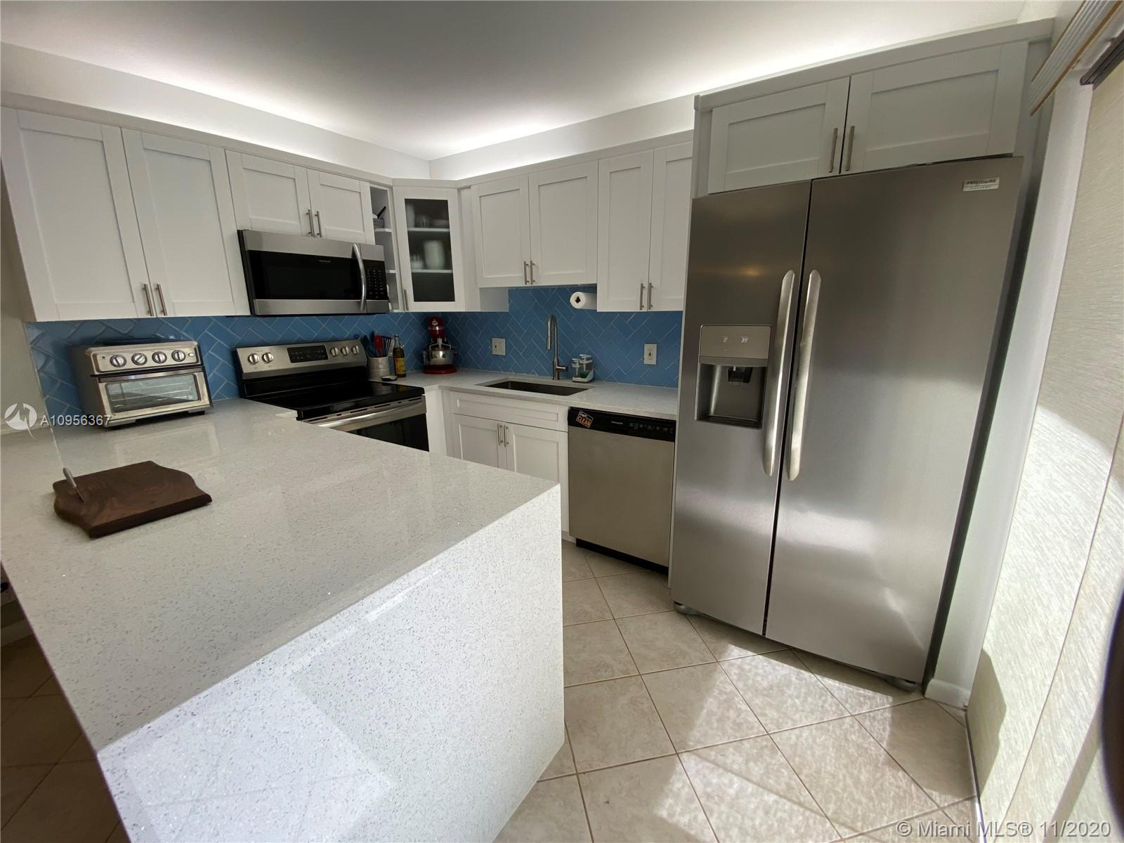 Great 2/2.5 all ages Townhouse @ the Waterford Deerfield. Minutes away from I-95/ Turnpike and Sawgrass Expressway.  Recently remodeled Kitchen with Quartz countertop and New Stainless Steel Appliances.  Just remodeled Guest Bathroom, all tile downstairs, Laminate floors on second story. Full size Washer and Dryer, Accordion Shutters, 2 parking spaces