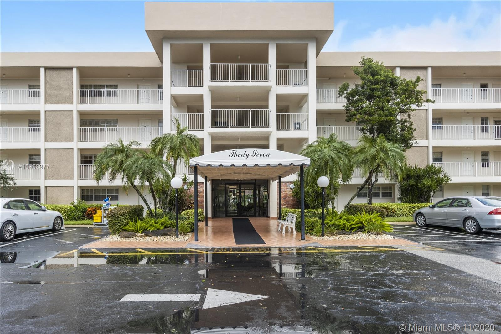 Beautiful and charming describes this 2 bedroom/2 bath condo, located in the most desirable community of Palm Aire Country Club ! Overlooking wonderful Golf Course view! Completely renovated with porcelain tile throughout. This unit features large eat-in kitchen with breakfast bar and recessed lighting, wide screen balcony, walk-in closet in master bedroom and custom made window treatments. Well located in the heart of Pompano Beach! Close to Palm-Aire recreational area featuring tennis courts, volleyball, basketball & more. Conveniently located close to famous Isles Casino Racing Pompano Park, golf courses , restaurants, shopping and all major highways.