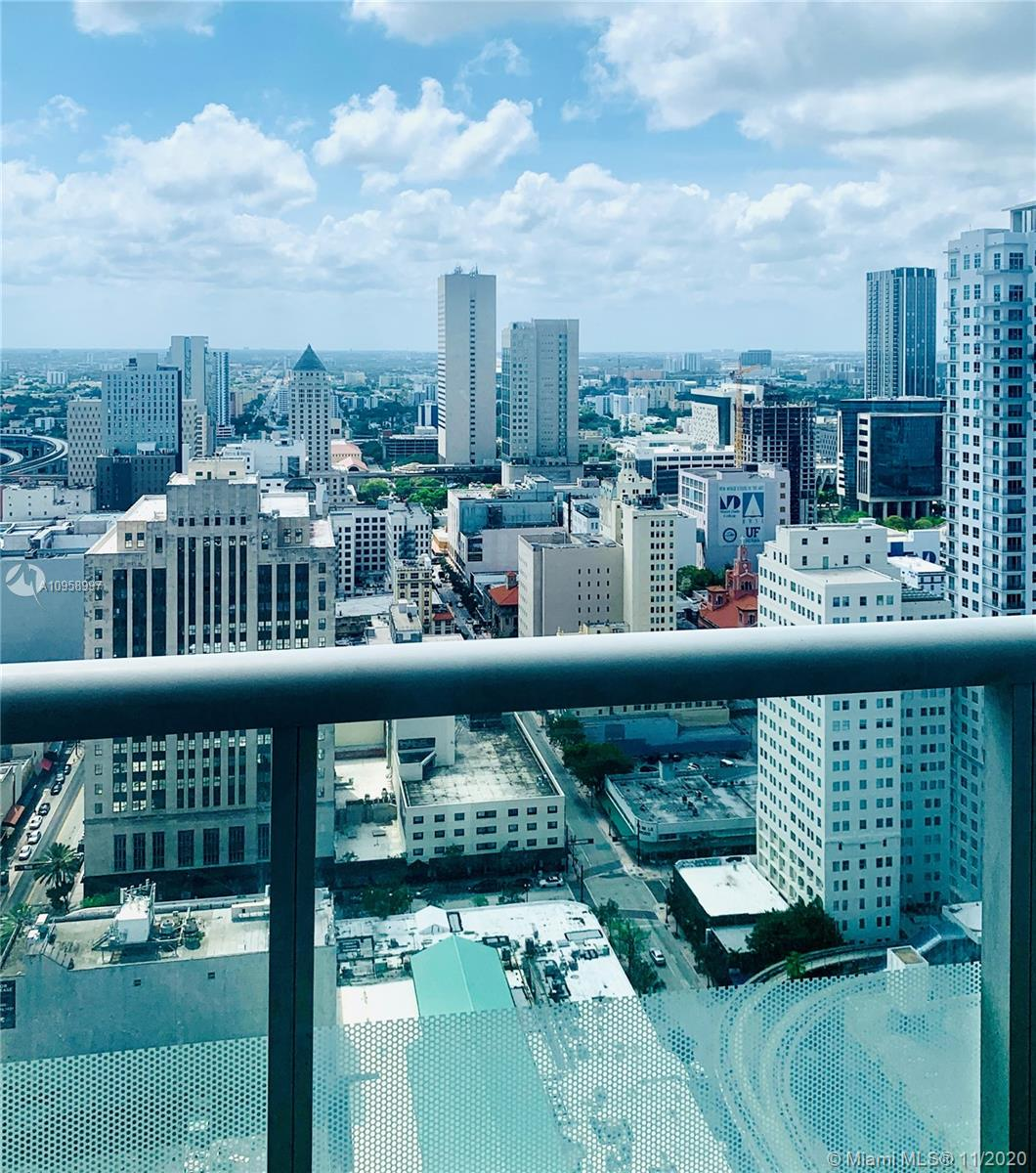 MOTIVATED SELLER, BRING OFFERS! Exceptional property w/more amenities than you can dream of in walkable neighborhood. Floor to ceiling glass doors & windows, spacious balcony, Italian kitchen & walk in closet and amazing views from 35th floor. Excellent location in the heart of Downtown accessible to the metro rail, major expressways and minutes to the beach. Great short or long term investment, developed by mega developer Related Group.
