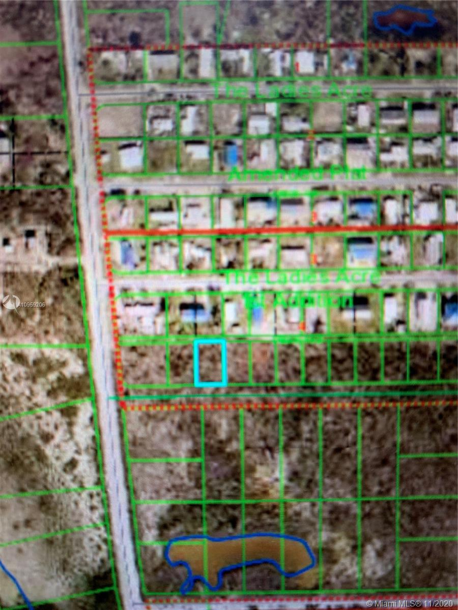 ONE OF THE LOWEST PRICED VACANT LOTS IN LOWER KEYS.  SELLER DOES NOT THINK IT IS BUILDABLE. IT IS NOT CLEARED. IT IS NOT ON DIRECT ROAD ACCESS. IT'S BELIEVED TO BE ZONED NATURAL AREA. COUNTY OWNS PARCELS IN THIS AREA. SELLER DOES NOT THINK IT CAN BE CLEARED AND AN RV PLACED ON IT. SELLER DOES NOT KNOW IF THERE IS UTILITIES PRESENT. THE PRICE REFLECTS THIS! SOLD BY QUIT CLAIM DEED ONLY.  SOLD AS-IS. BUYER TO VERIFY ALL INFORMATION PRIOR TO SUBMITTING AN OFFER. CHECK WITH COUNTY FOR ROGO POINTS, USE, AND FUTURE DEVELOPMENT. PROPERTY IS OWNED BY A LICENSED REAL ESTATE AGENT.