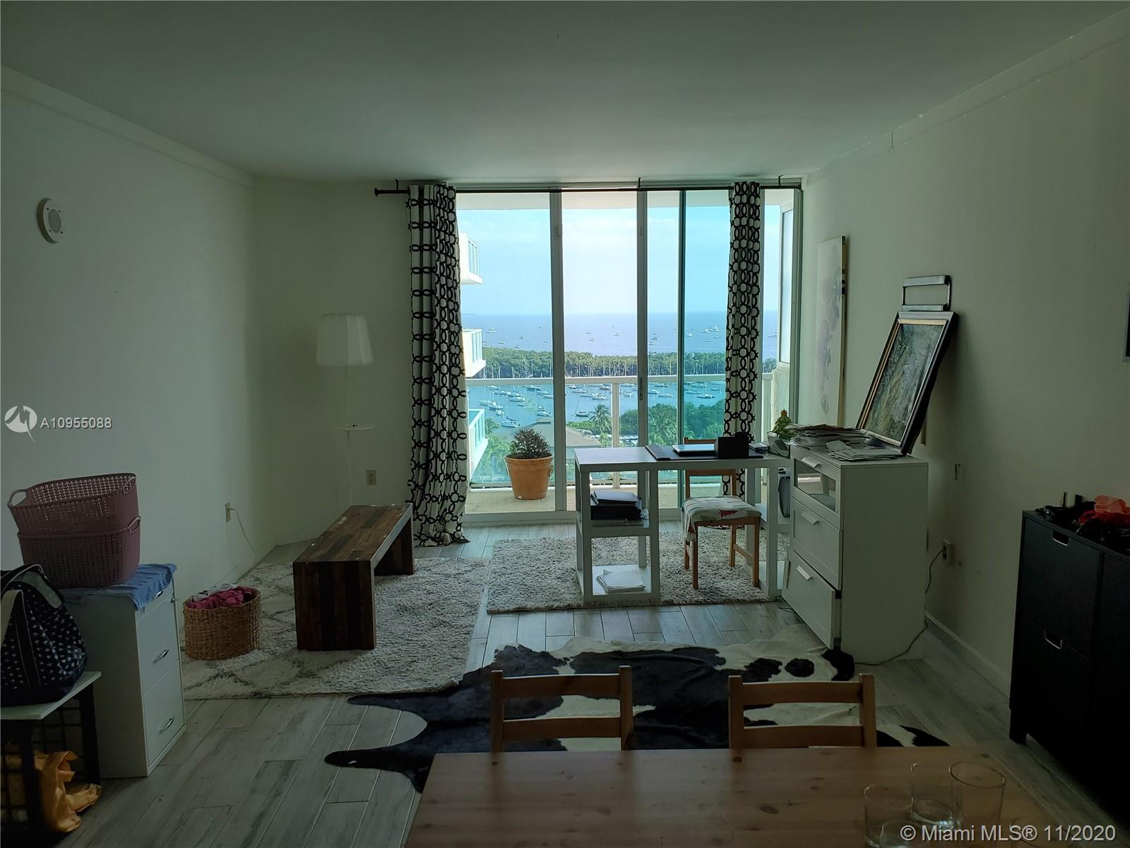 Arya in beautiful Coconut Grove residential unit available. Unit has stunning bay and pool views. Excellent opportunity as an Investment property, vacation rental and Airbnb. Hotel management Program available for unit owners.