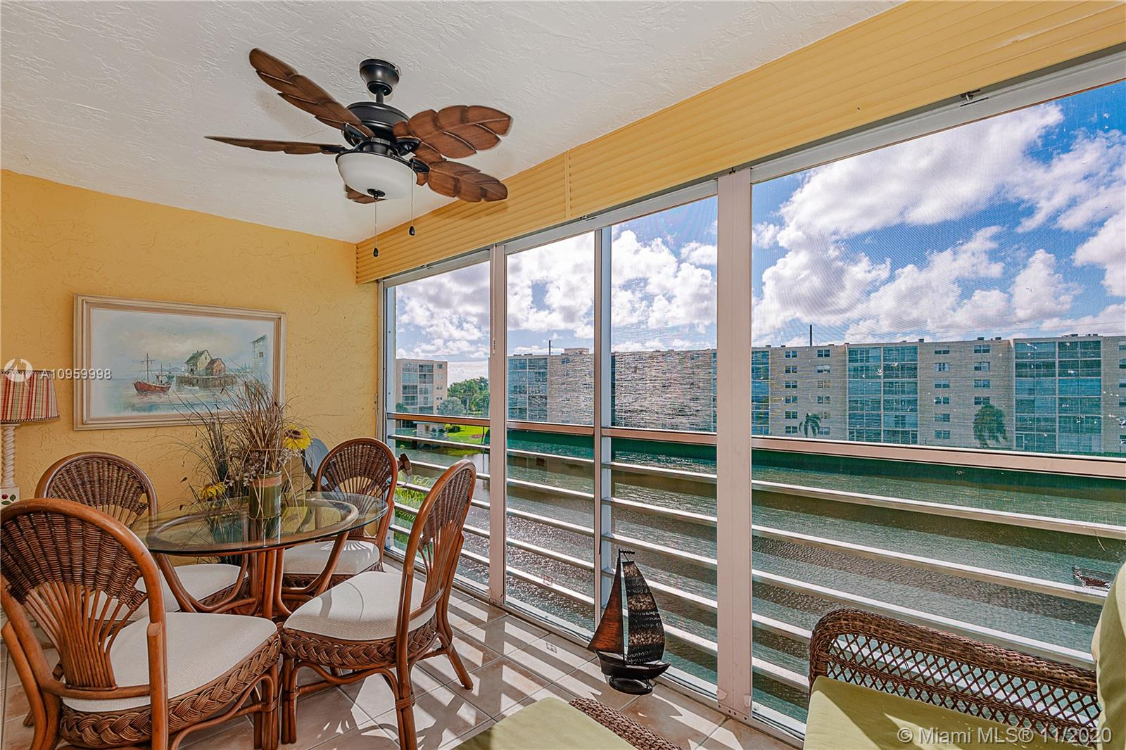 **AVAILABLE RIGHT AWAY IS THIS WELL PRICED UNIT IN DESIRABLE 4TH FLOOR MEADOWBROOK VIEW CONDO OFFERING A HIGHLY DESIRABLE SOUTHERN WATER VIEW FROM THE MASTER BEDROOM AND OVERSIZE, PRIVATE BALCONY** ALL AGES WELCOME**LOW MAINTENANCE FEES, RIDE YOUR BIKE TO THE BEACH, MINUTES FROM SHOPPING PLAZA, AIRPORT, RESTAURANTS AND MUCH MORE...FOREIGN SELLER SO THIS ONE IS SOLD COMPLETELY FURNISHED.
